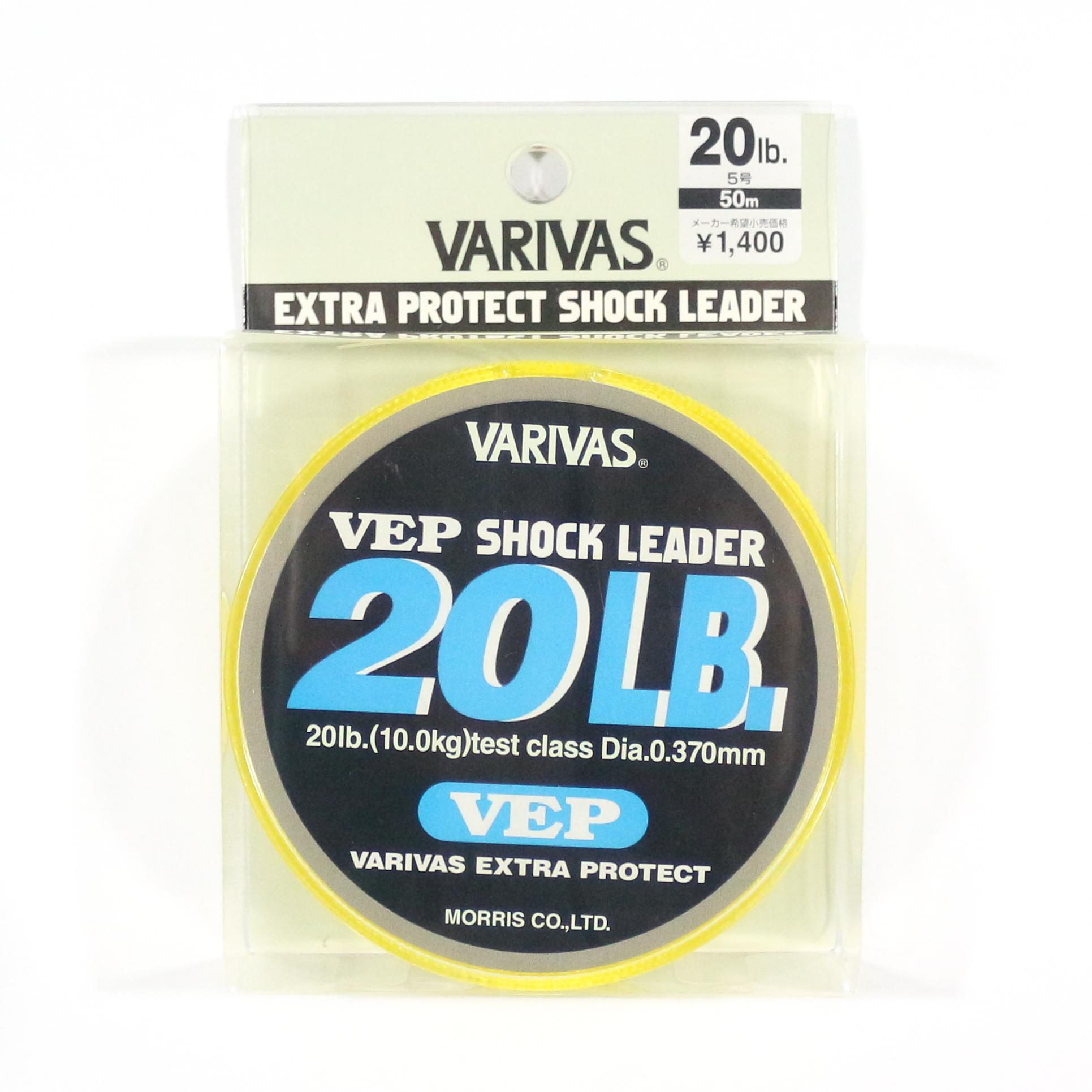 Varivas Nylon VEP Shock Leader Line 50m 20lb (5166)