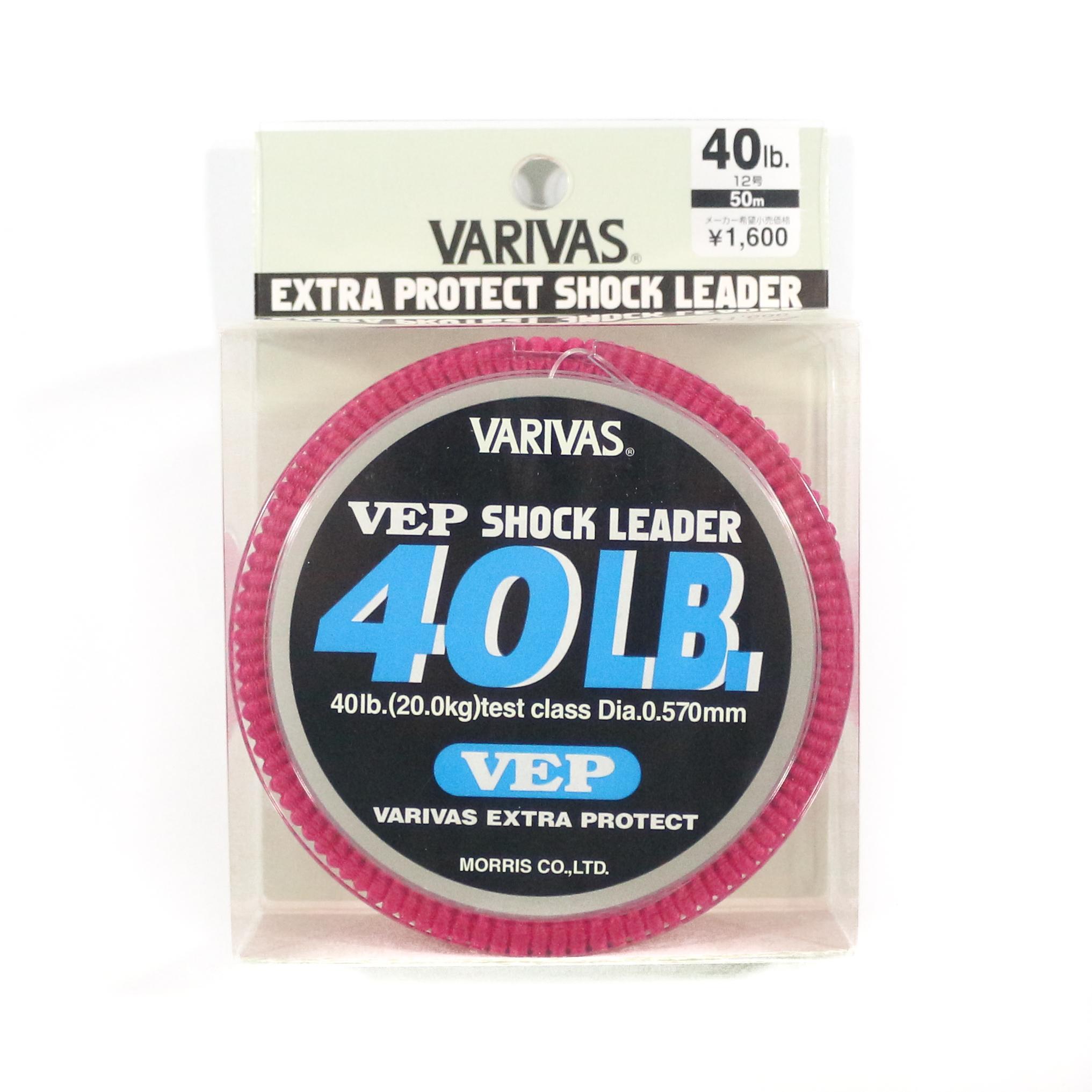Varivas Nylon VEP Shock Leader Line 50m 40lb (6507)