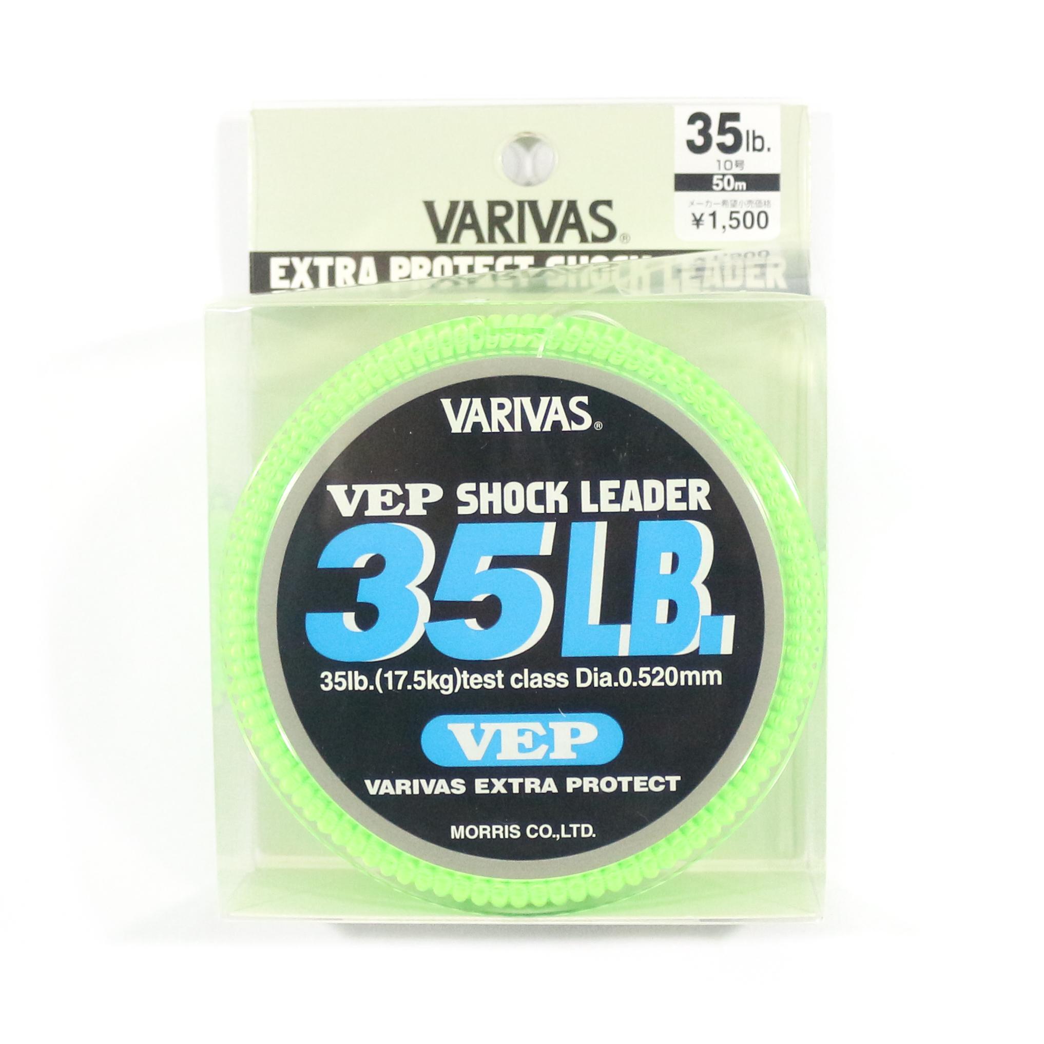 Varivas Nylon VEP Shock Leader Line 50m 35lb (9171)