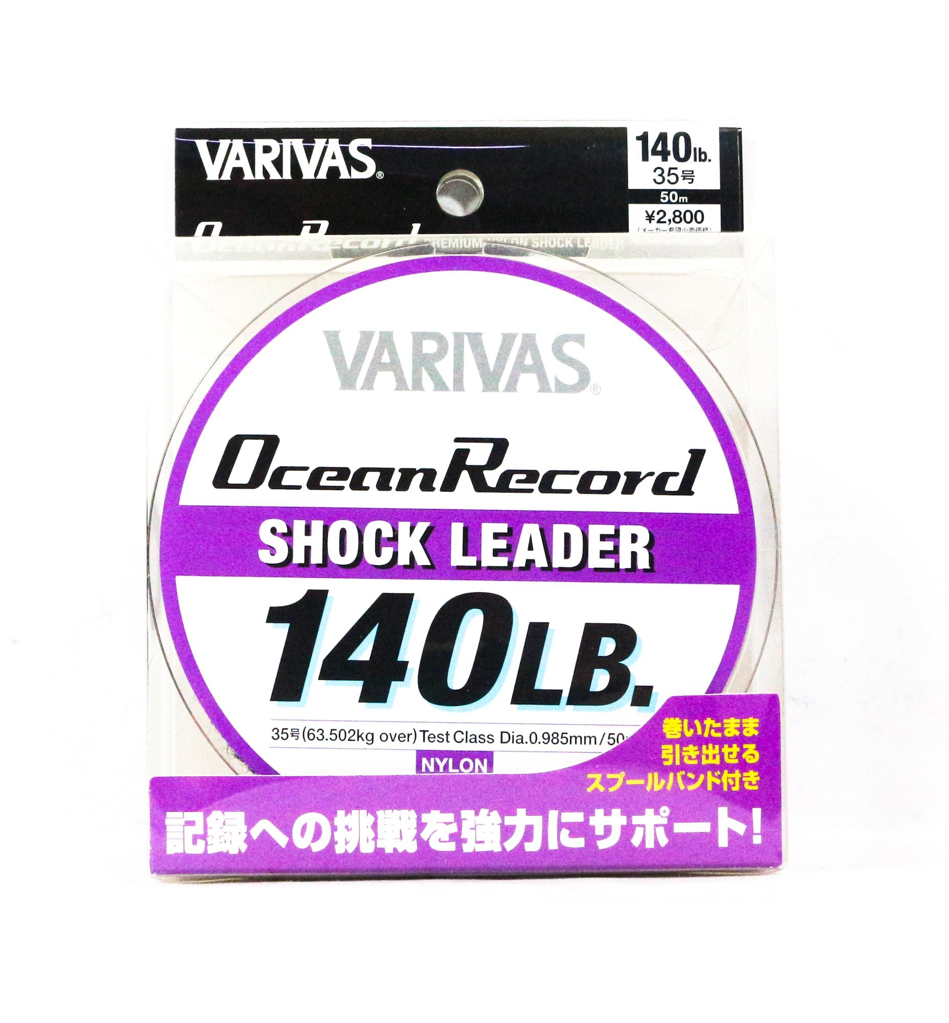 Varivas Nylon Ocean Record Shock Leader Line 50m 140lb (9969)