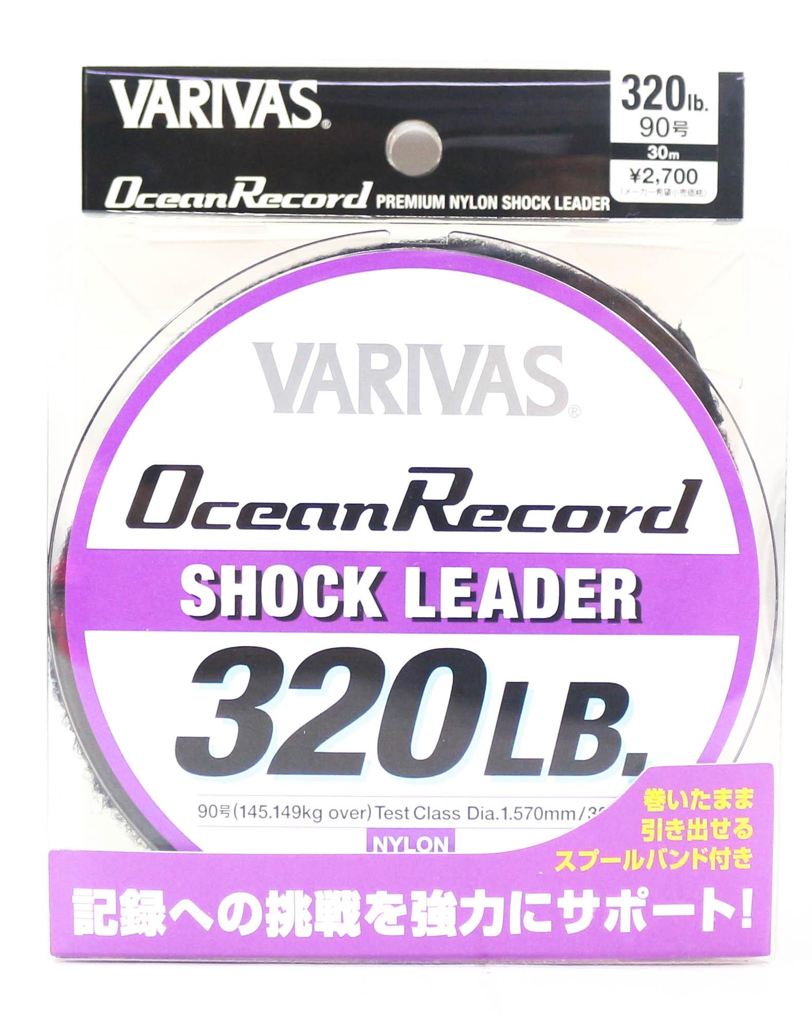 Varivas Ocean Record Nylon Shock Leader Line 30m 320lb (0023)