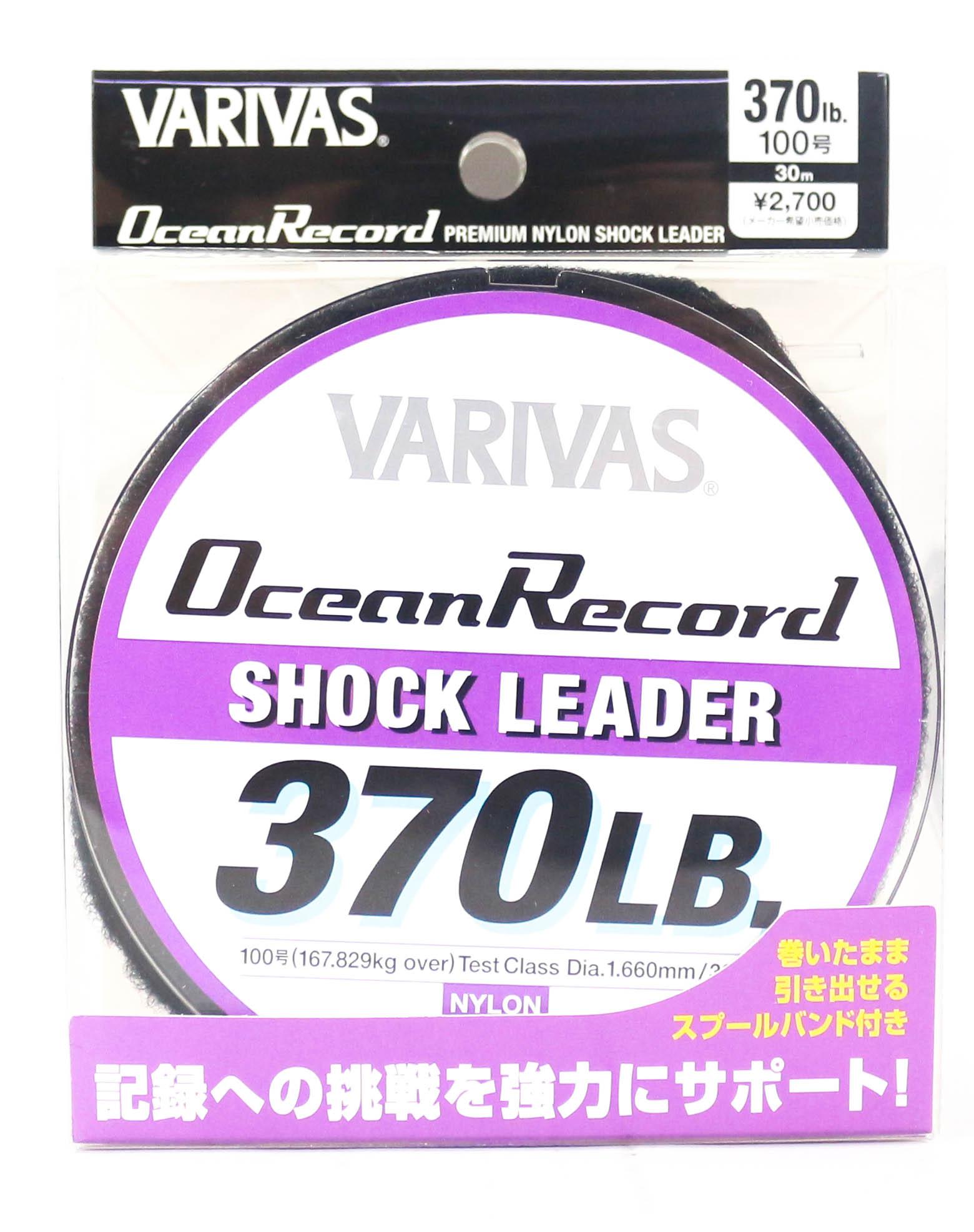 Varivas Ocean Record Nylon Shock Leader Line 30m 370lb (0030)