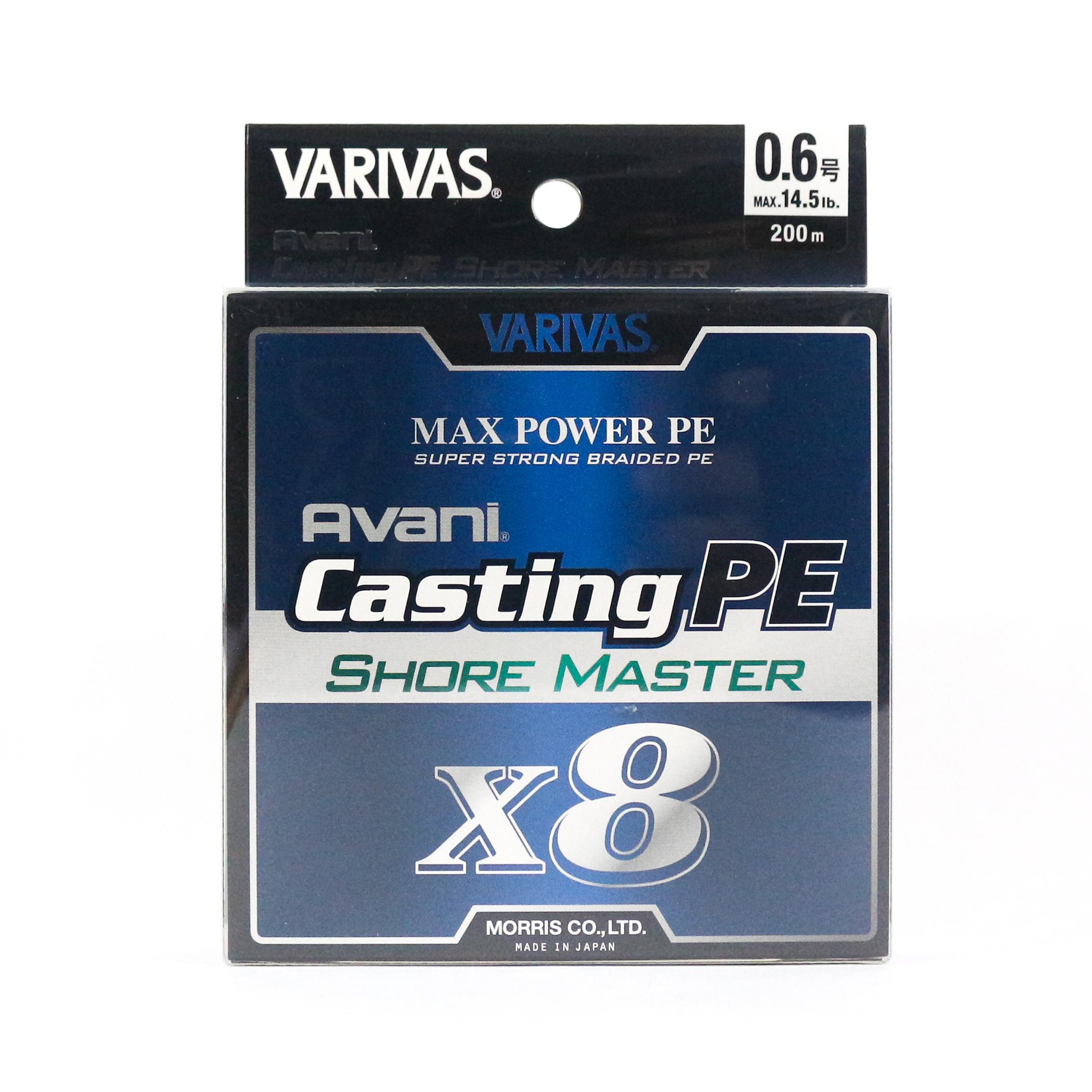 7046 Varivas P.E Linie Super Trout Advance Max Power 150m P.E 0.6 Max 14.5lb