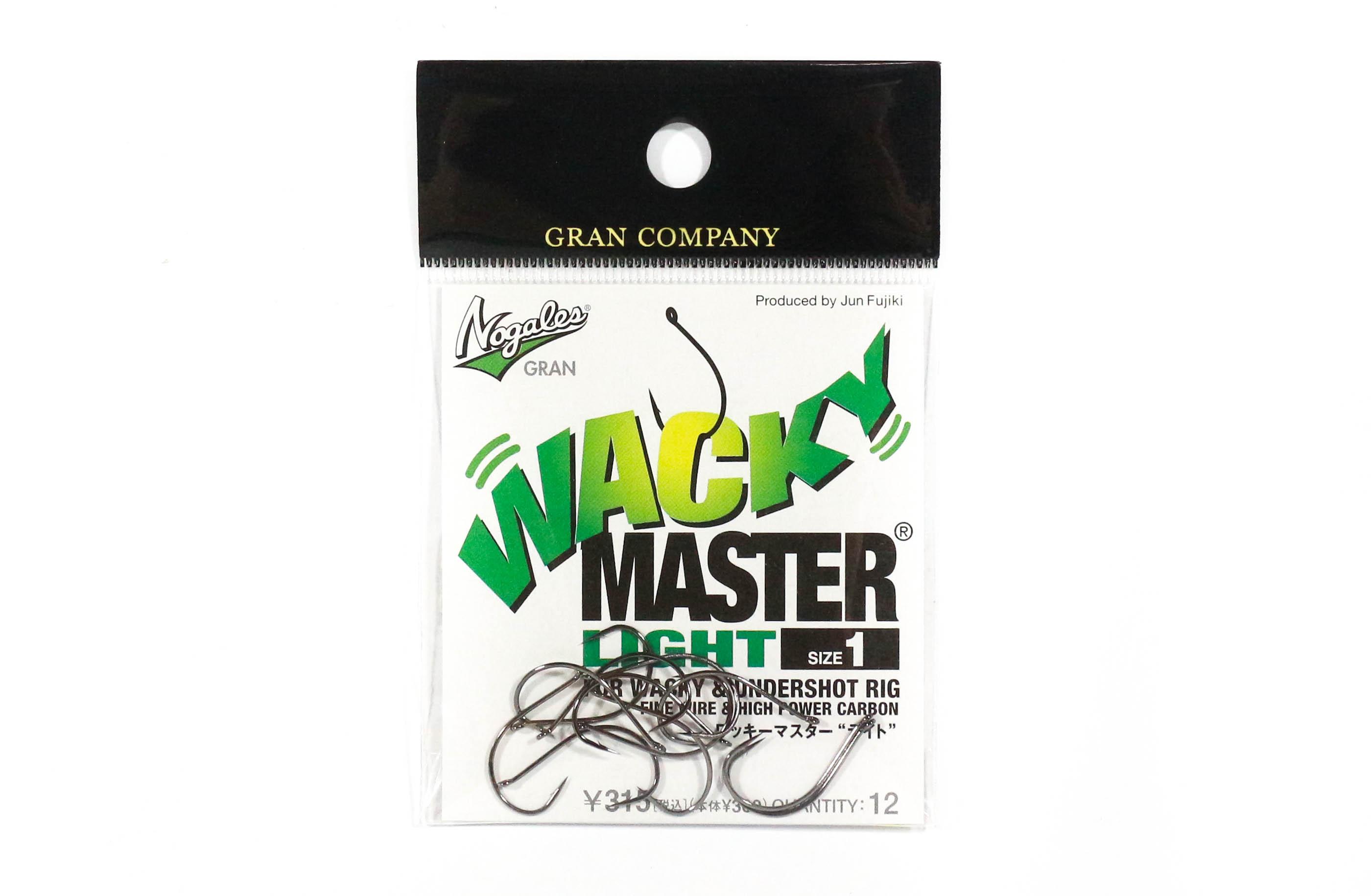 8158 Varivas Wild Mosquito Wacky Worm Hook Heavy Guard Size 1