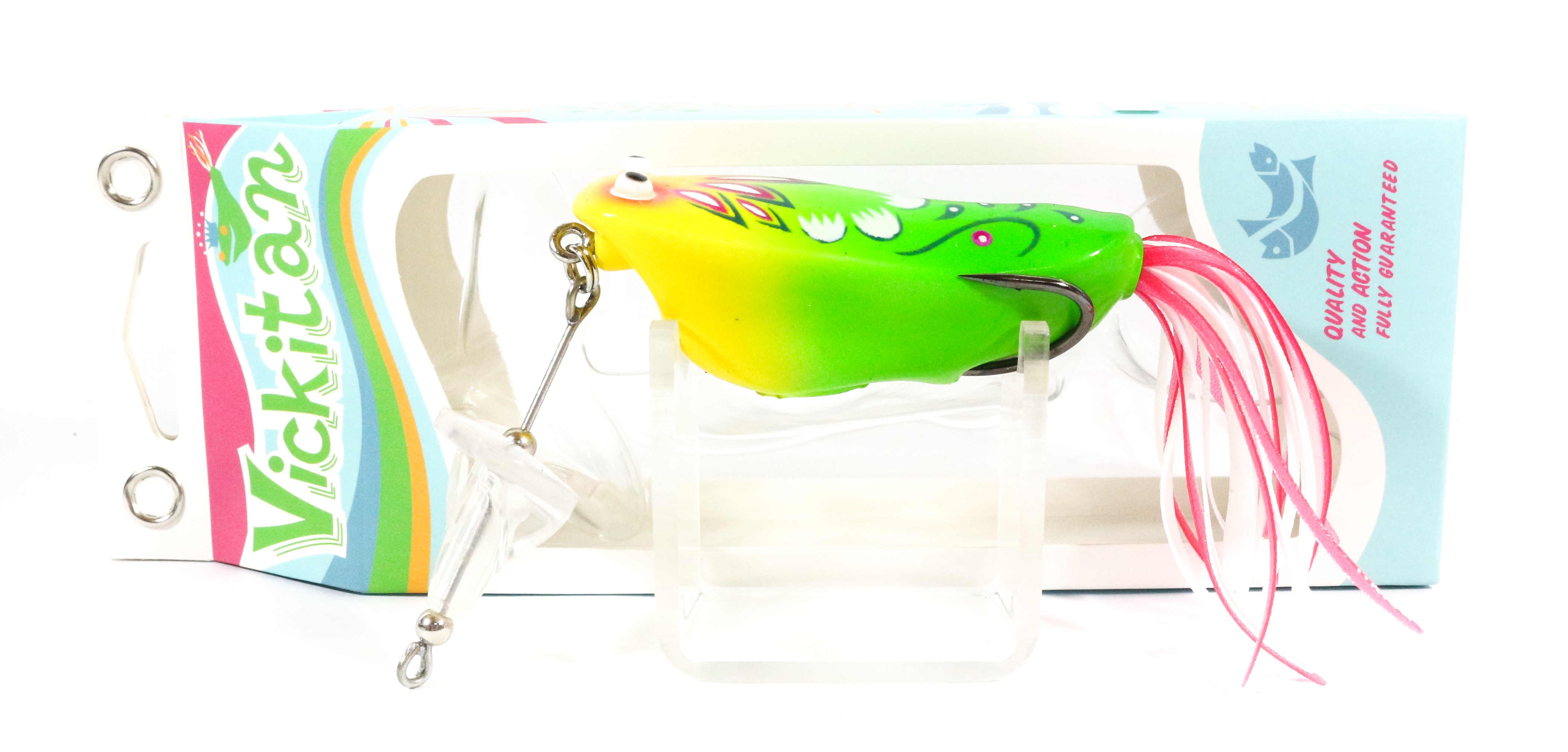 Sale Vickitan Buzz Topwater Soft Frog Lure 04 (1015)