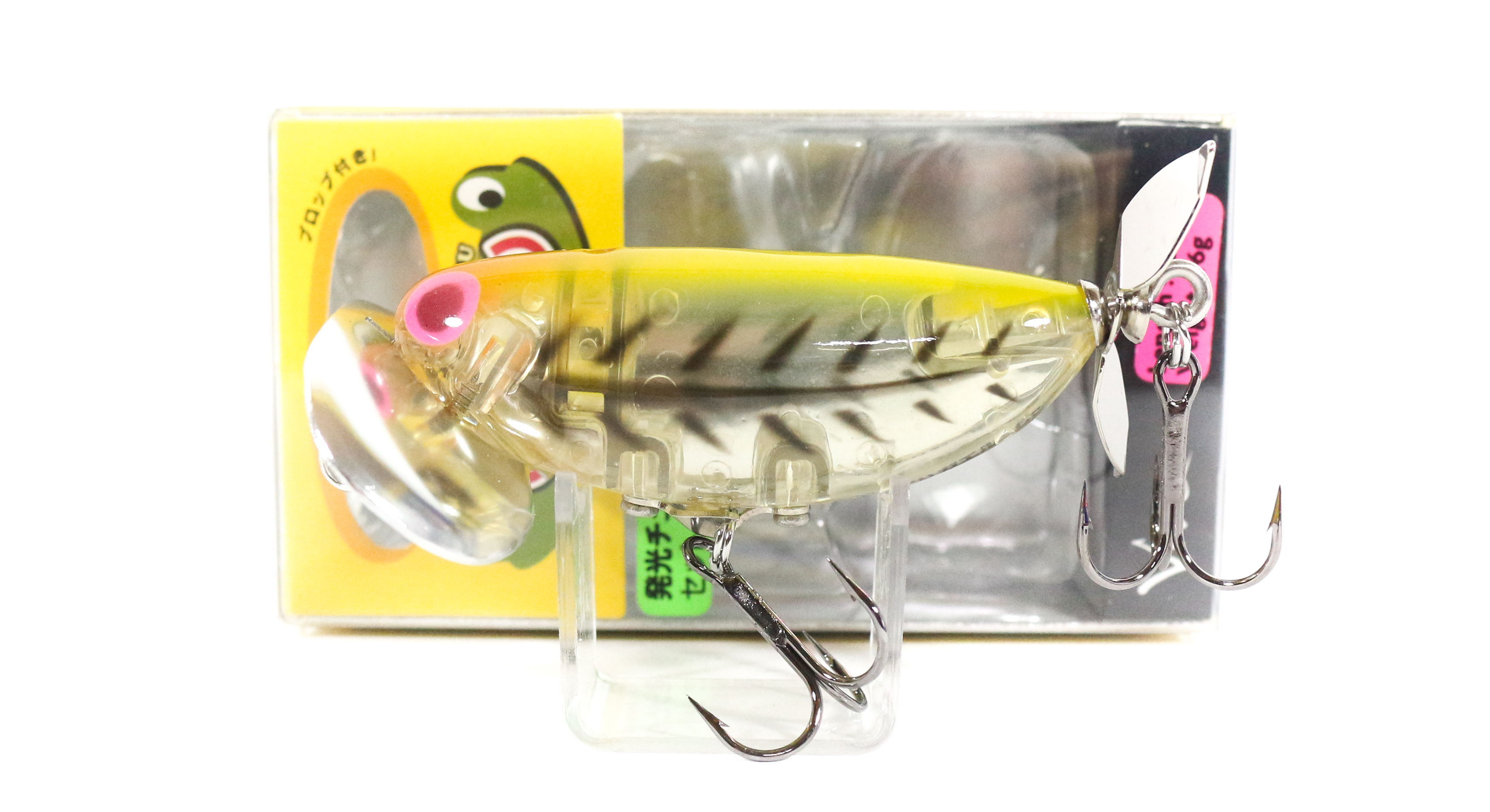 Viva Denguri Gaeru Jitter Walking Prop Floating Lure 39 (5546)