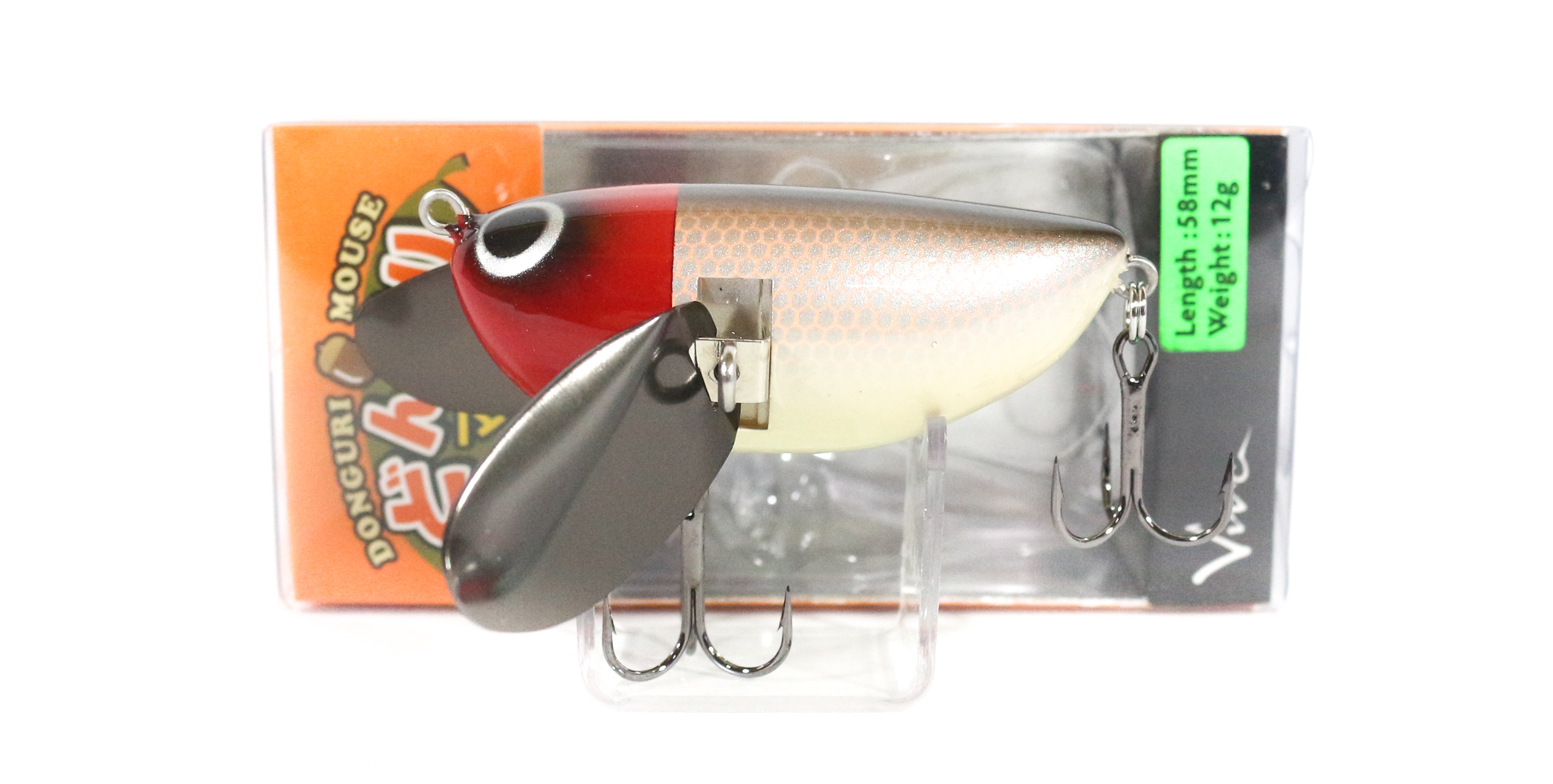 Viva Donguri Mouse Hyper Clapper Sound Floating Lure 147 (5267)