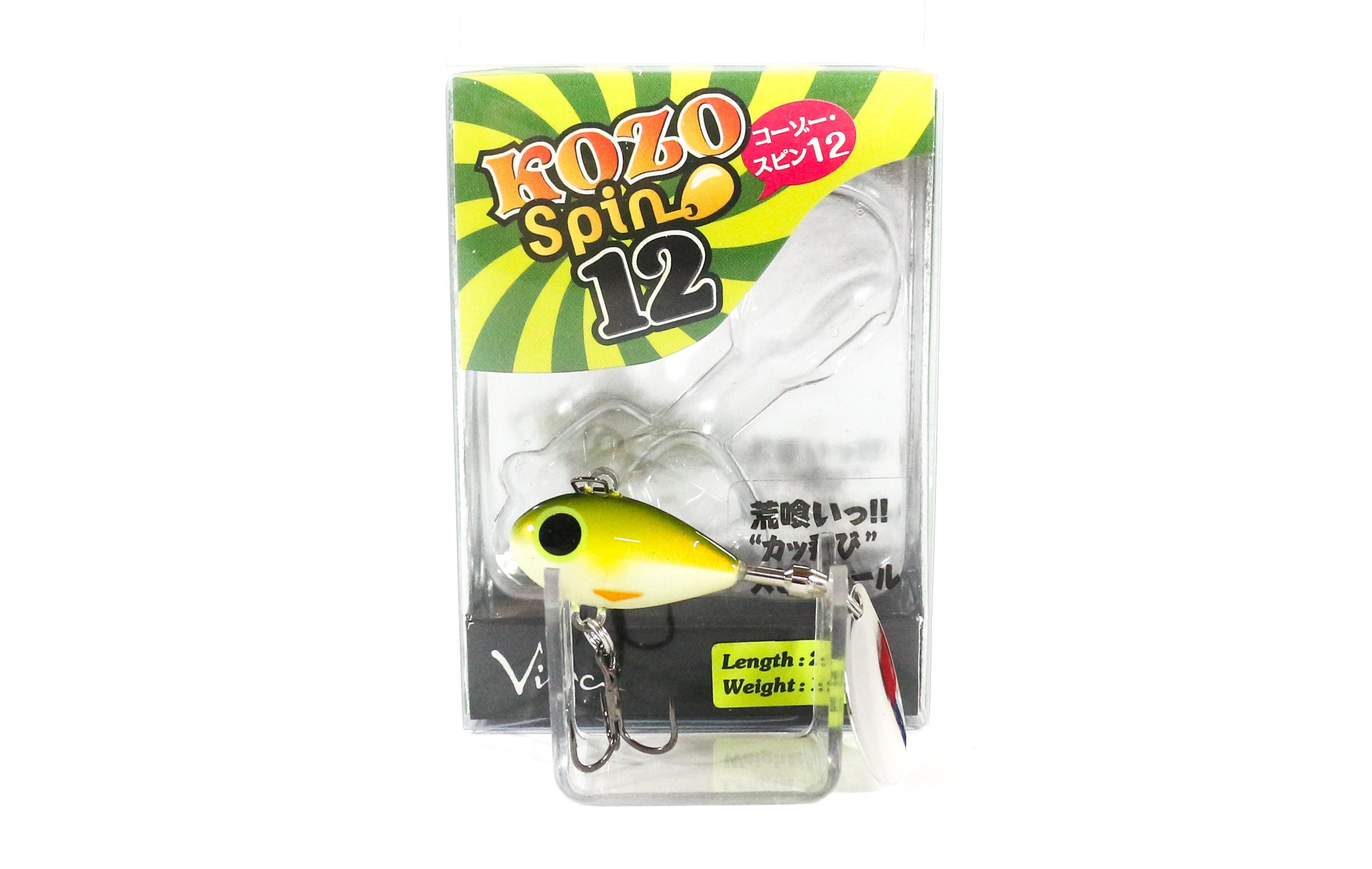 Viva Kozo Spin 12 grams Spinner Bait Lure 128 (7526)