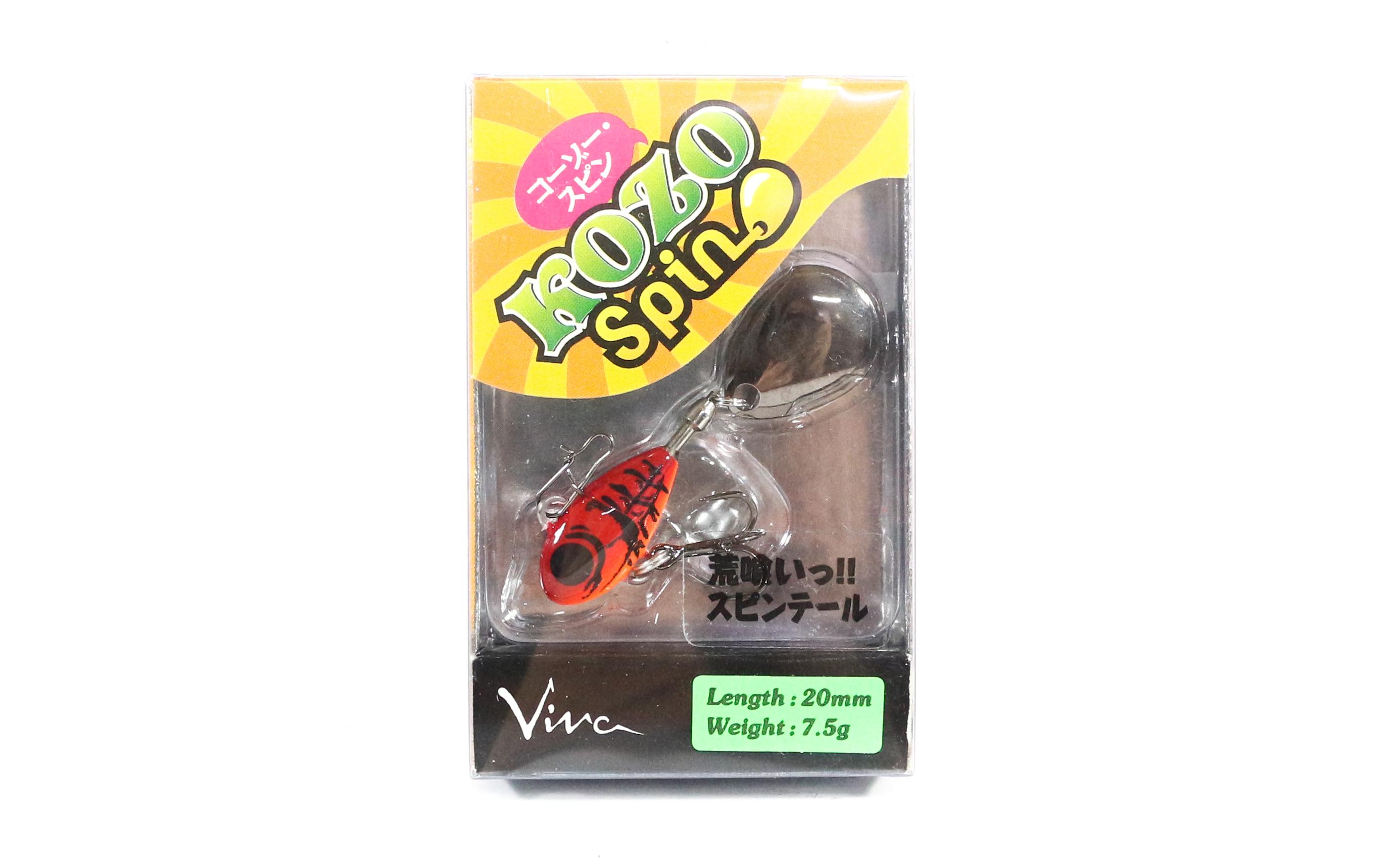 Viva Kozo Spin 7.5 grams Spinner Bait Lure 141 (5409)
