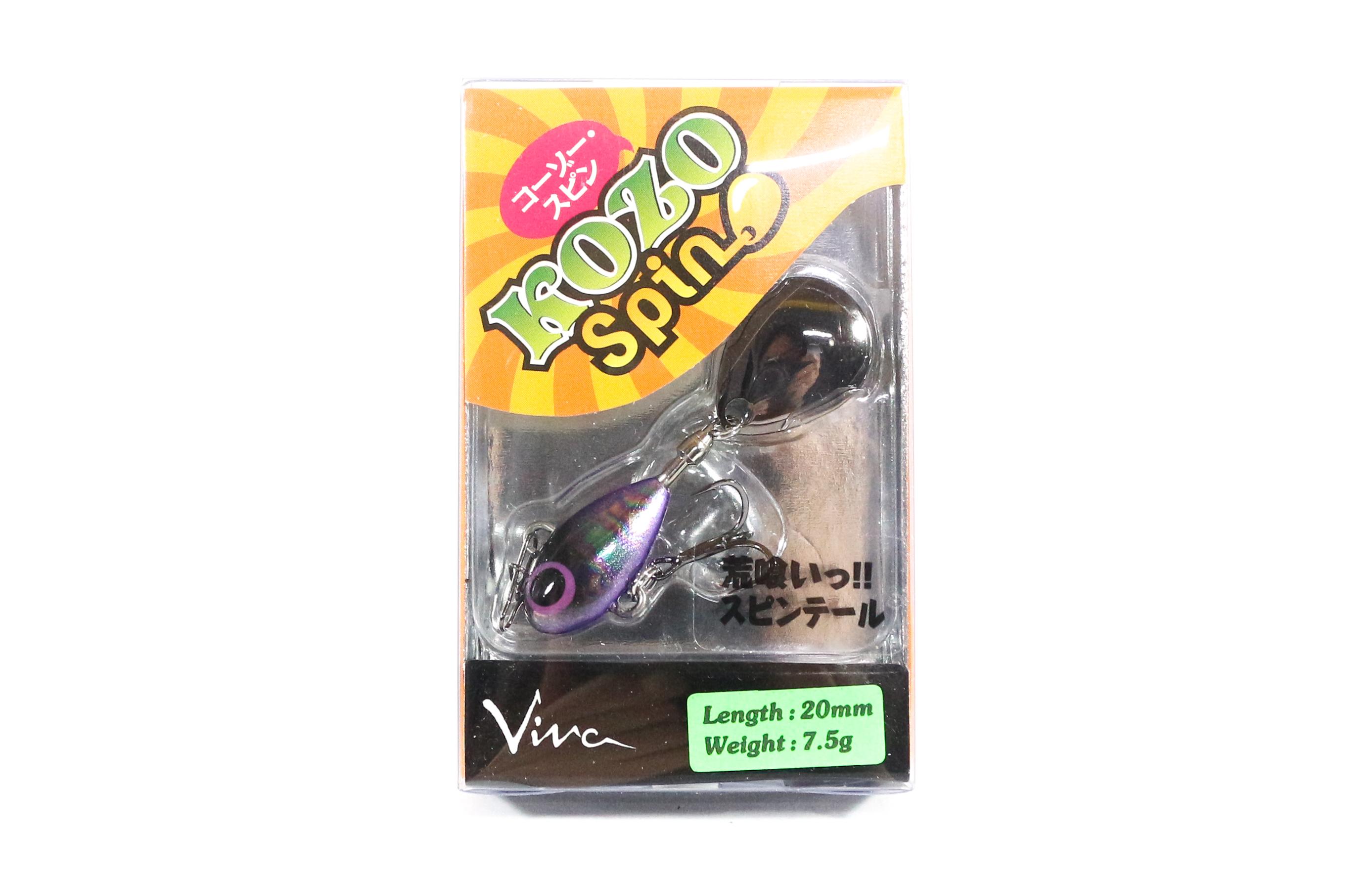 Viva Kozo Spin 7.5 grams Spinner Bait Lure 158 (7175)