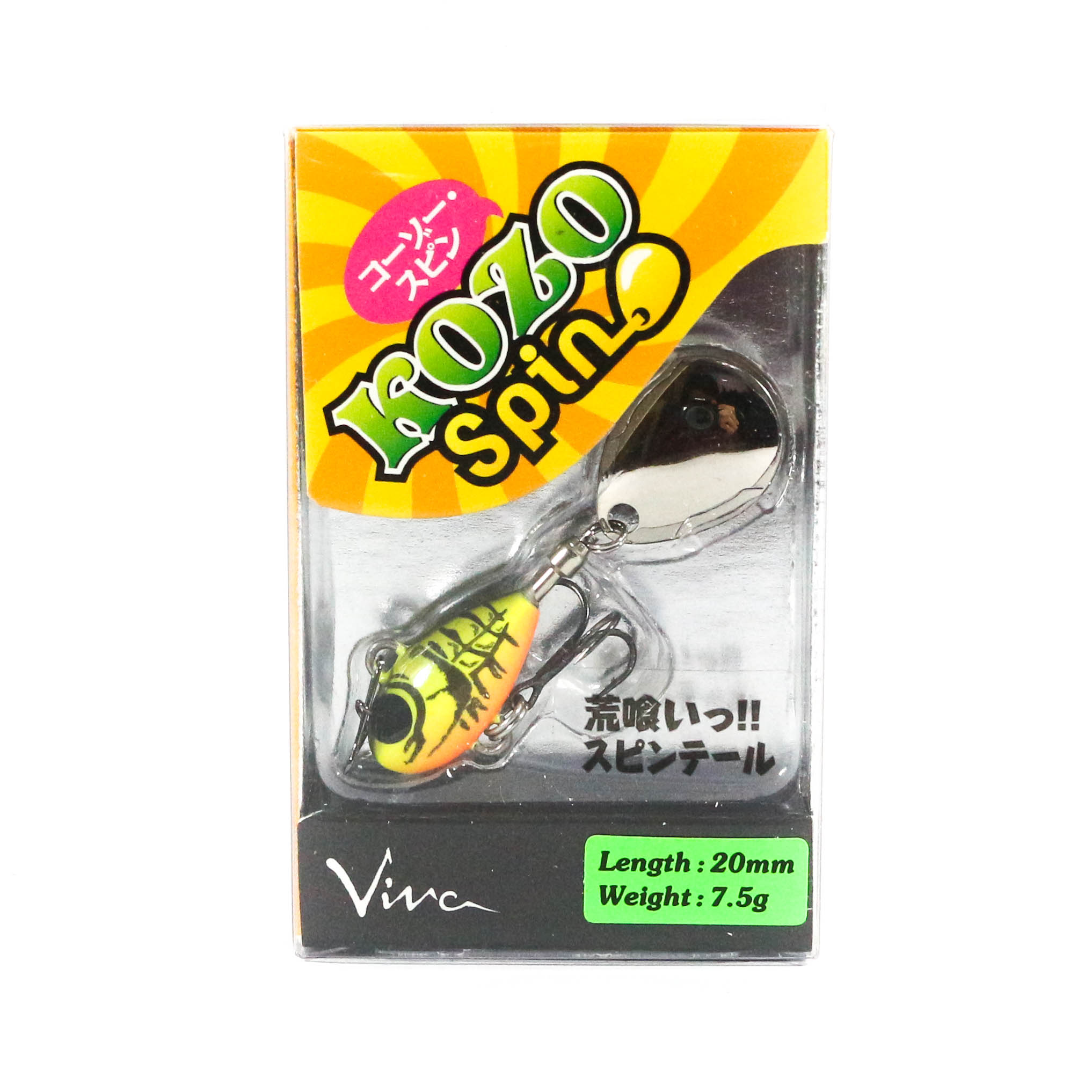 Viva Kozo Spin 7.5 grams Spinner Bait Lure 160 (7199)