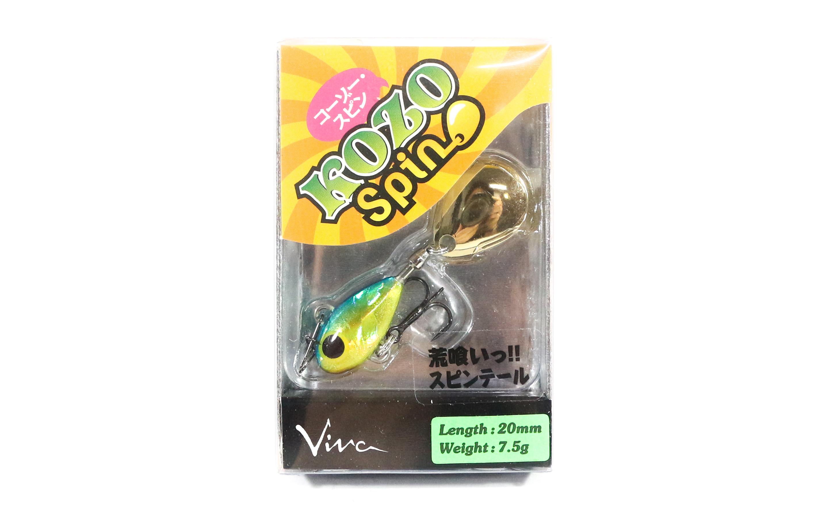 Viva Kozo Spin 7.5 grams Spinner Bait Lure 186 (2235)