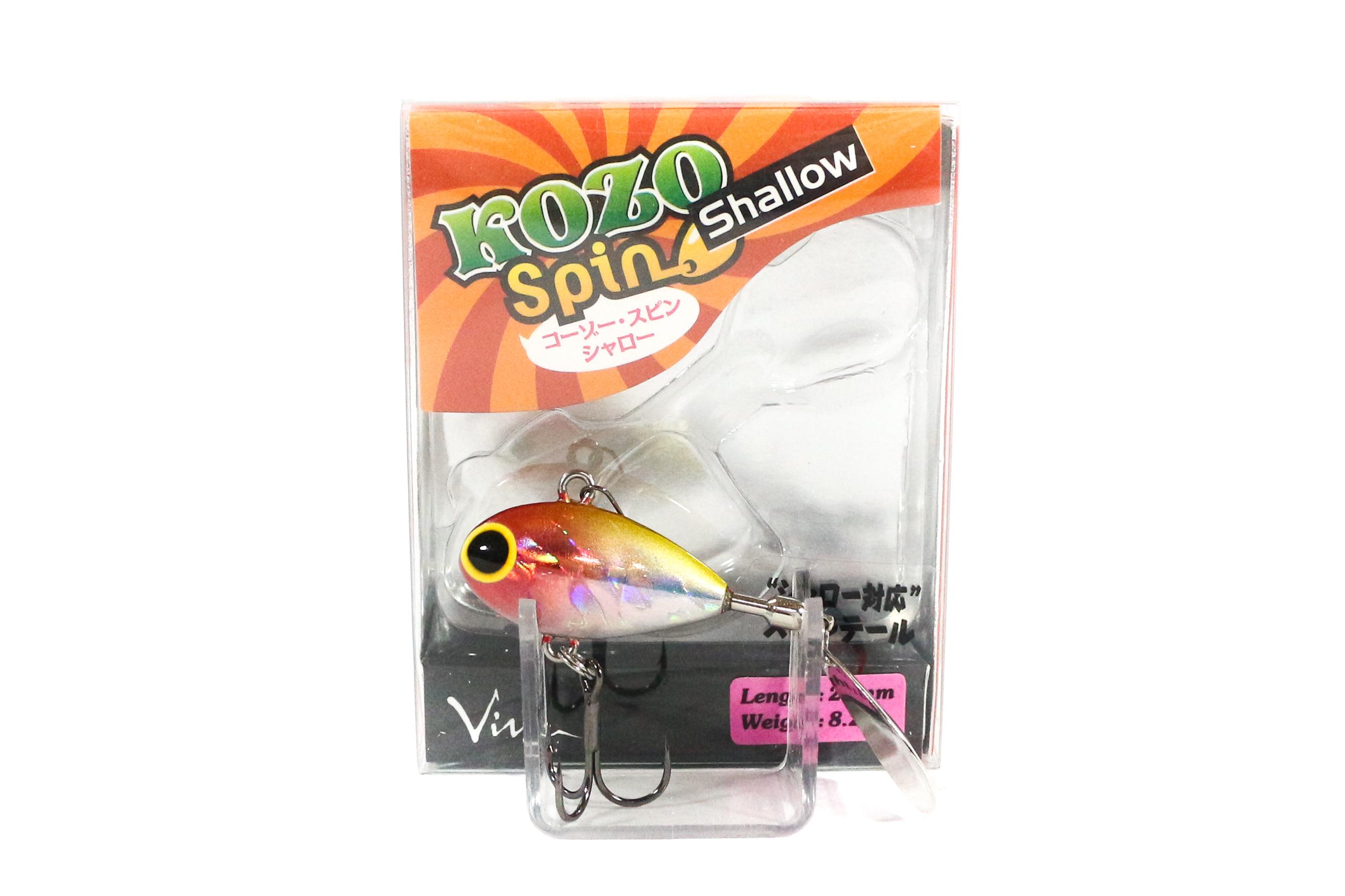 Viva Kozo Spin Shallow 8.2 grams Spinner Bait Lure 169 (3034)