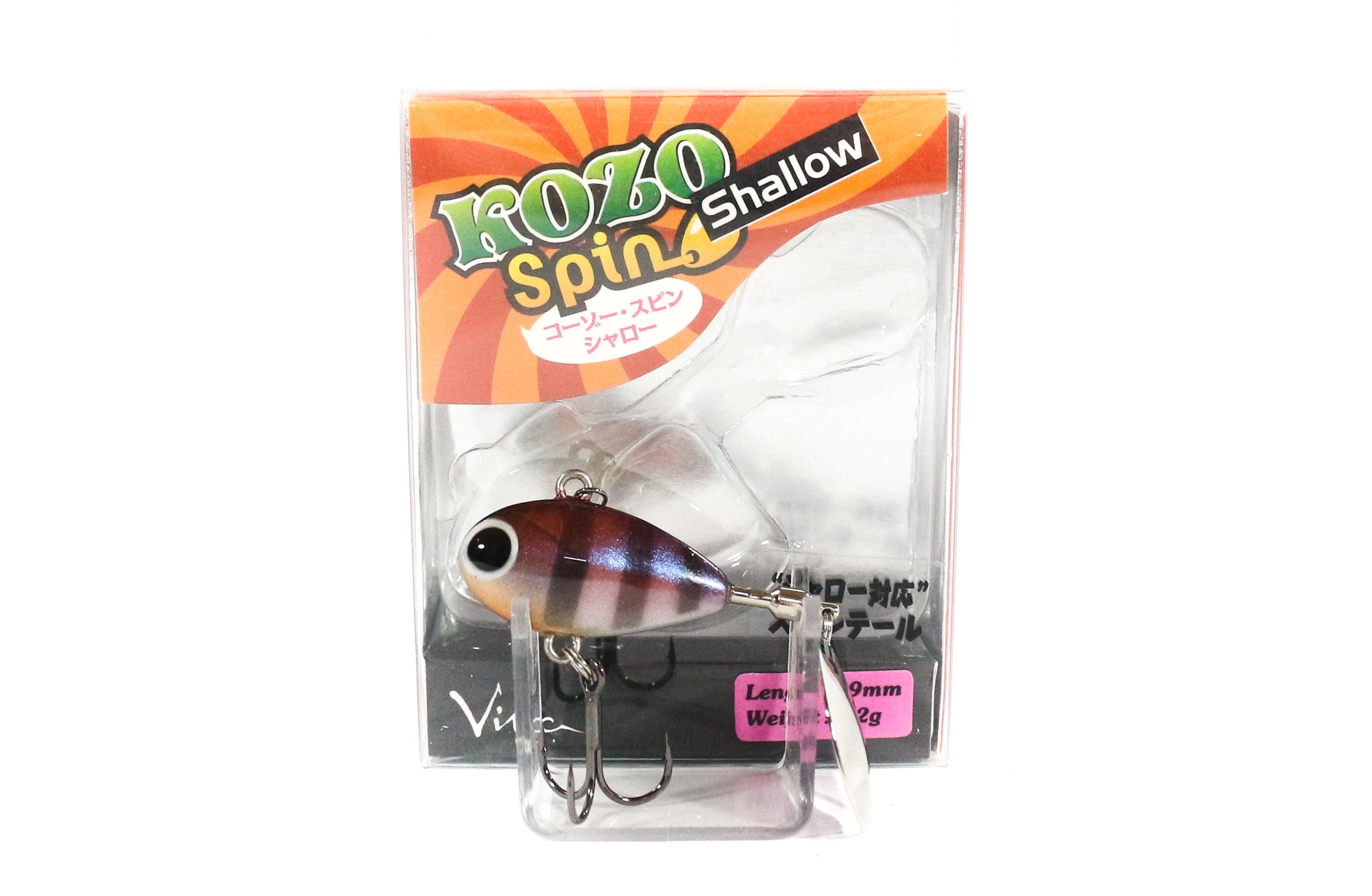 Viva Kozo Spin Shallow 8.2 grams Spinner Bait Lure 189 (3058)