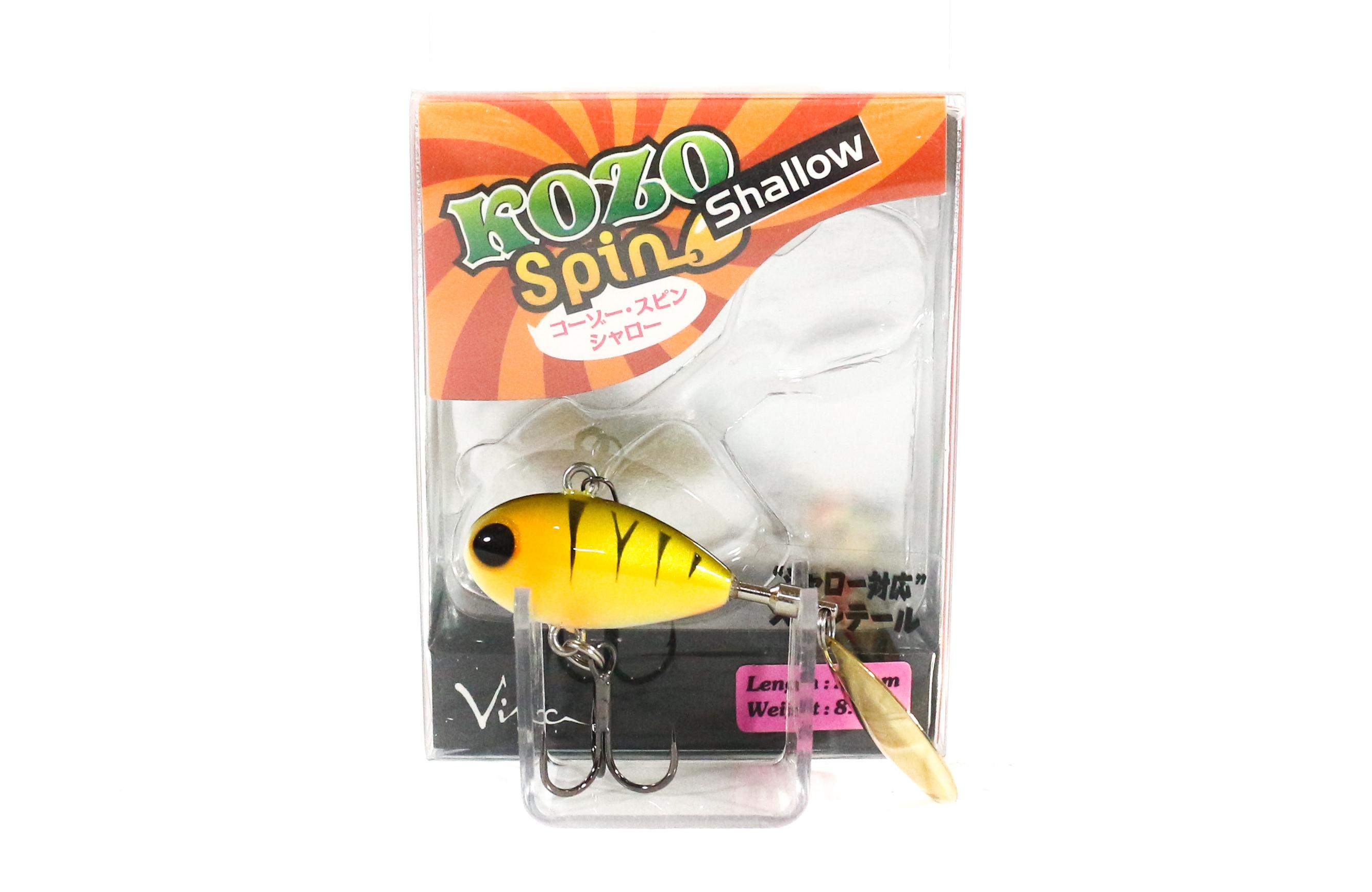 Viva Kozo Spin Shallow 8.2 grams Spinner Bait Lure 190 (3065)