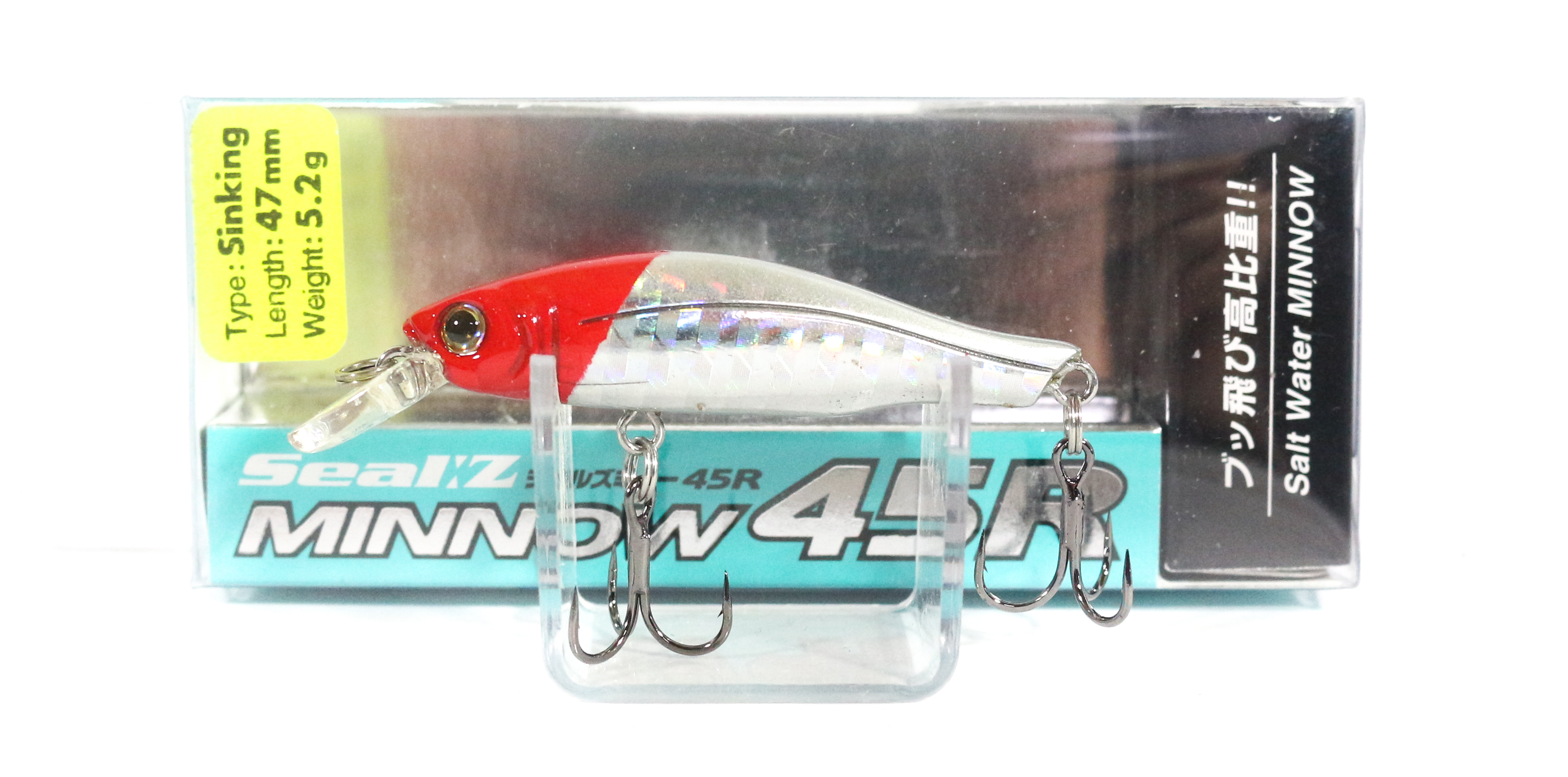 Sale Viva Aqua Wave Seal Z Minnow 45R Lure A24A (2767)