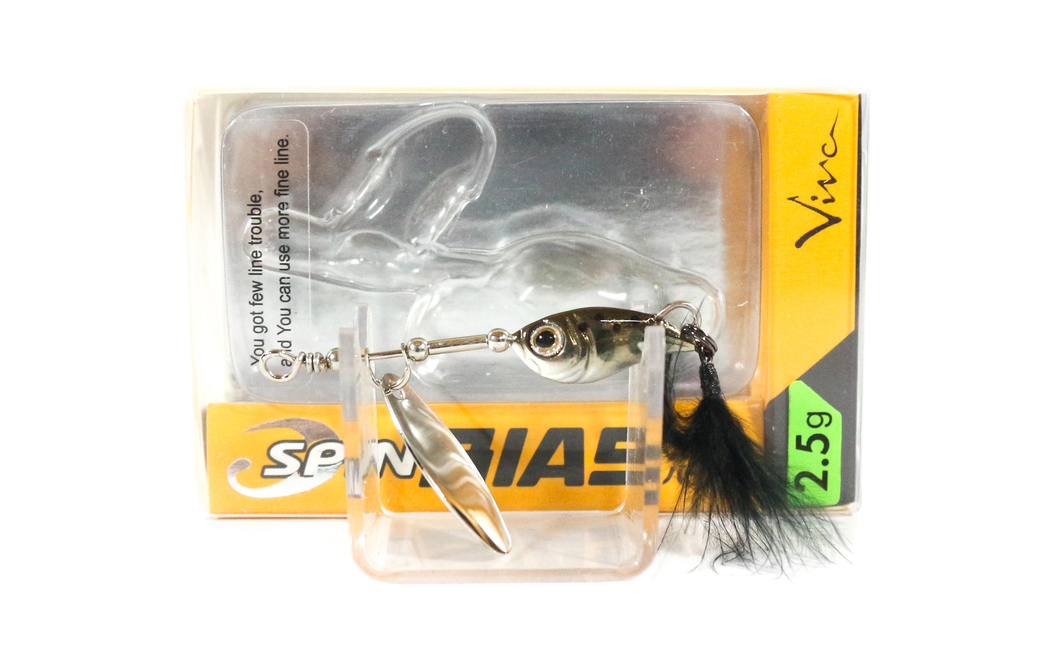 Viva Spin Bias 2.5 grams Spinner Bait Lure 7S (5888)