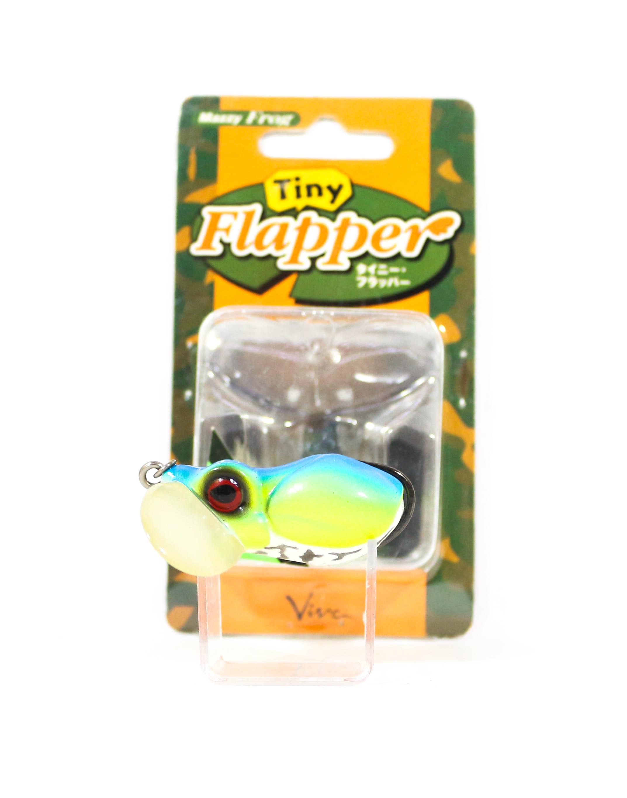 Sale Viva Tiny Flapper Weedlesss Frog 40 mm Floating Lure 19 (6137)