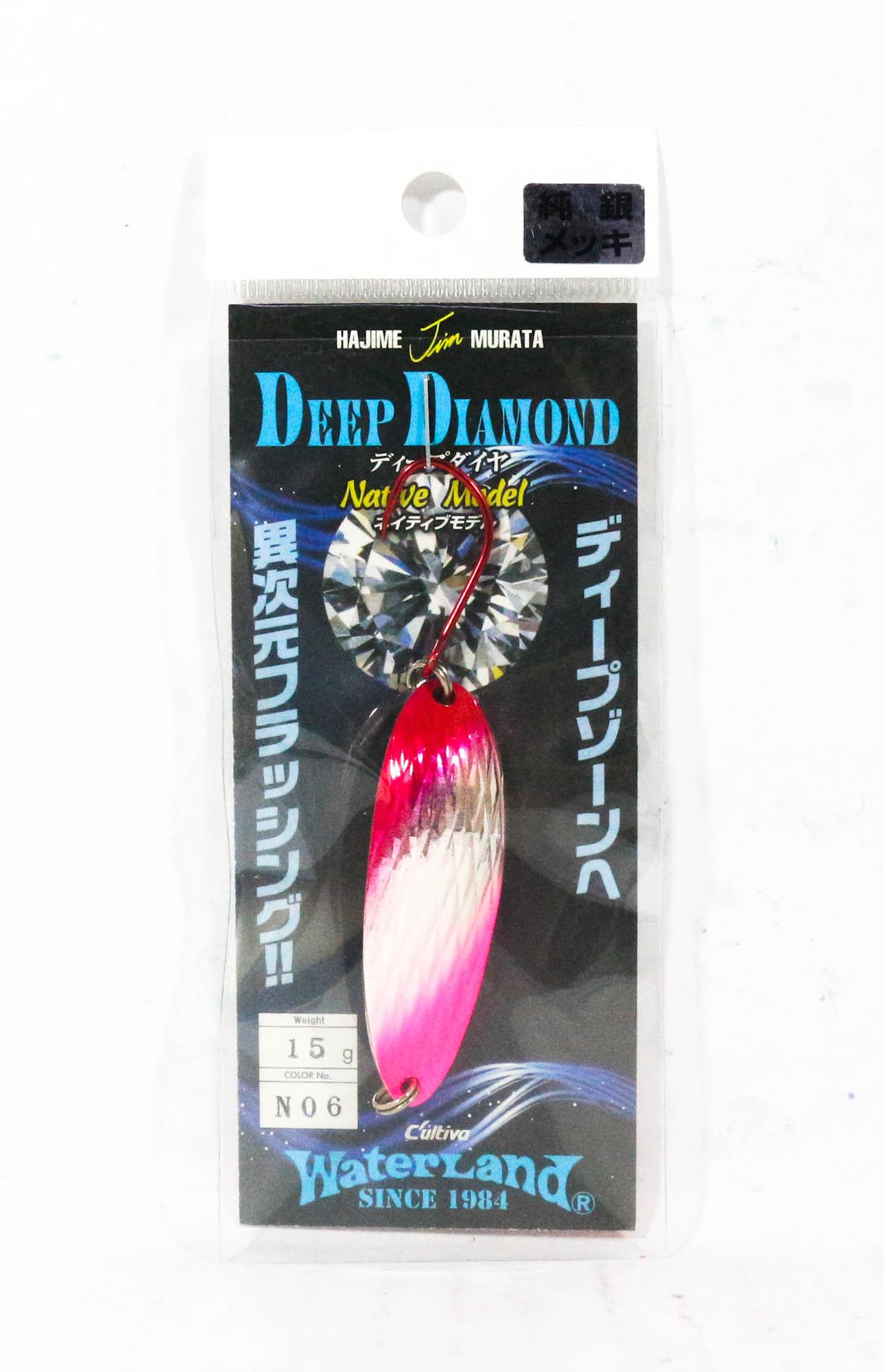 Sale Water Land Spoon Deep Diamond Native 15 grams Sinking Lure 6 (9279)
