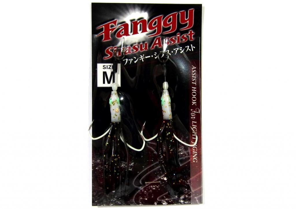 Xesta Fanggy 2 Skirted Twin Assist Hooks Size M ( 1 ) (0761)