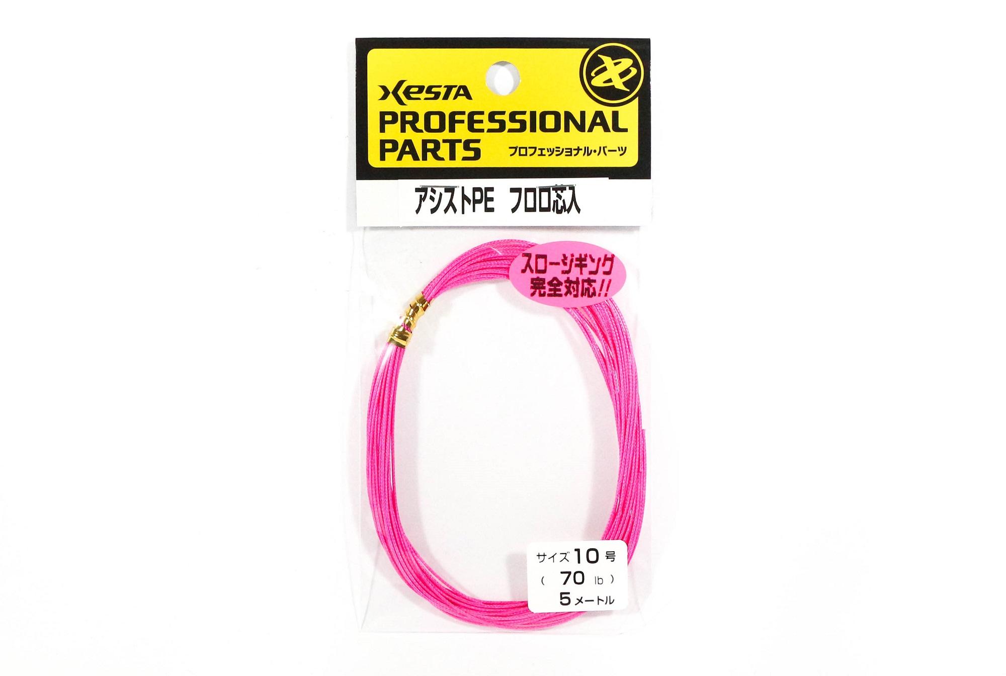 Xesta Assist P.E Fluoro Core Size 10 70lb 5m (5545)