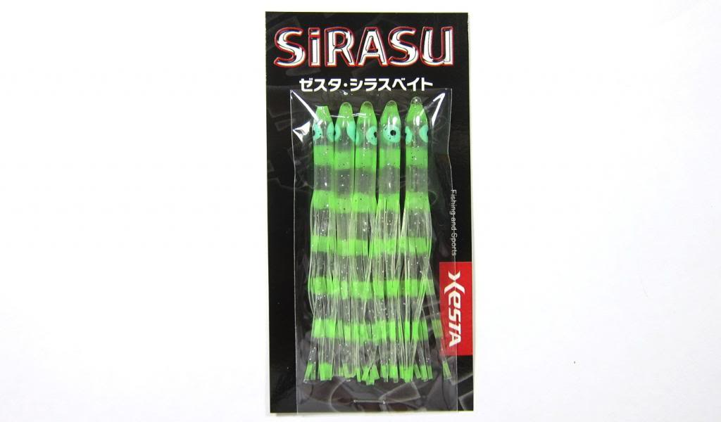 Xesta Sirasu 2.5 Inch Skirt Teasers For Assist Hook Jigging ZKL (9870)