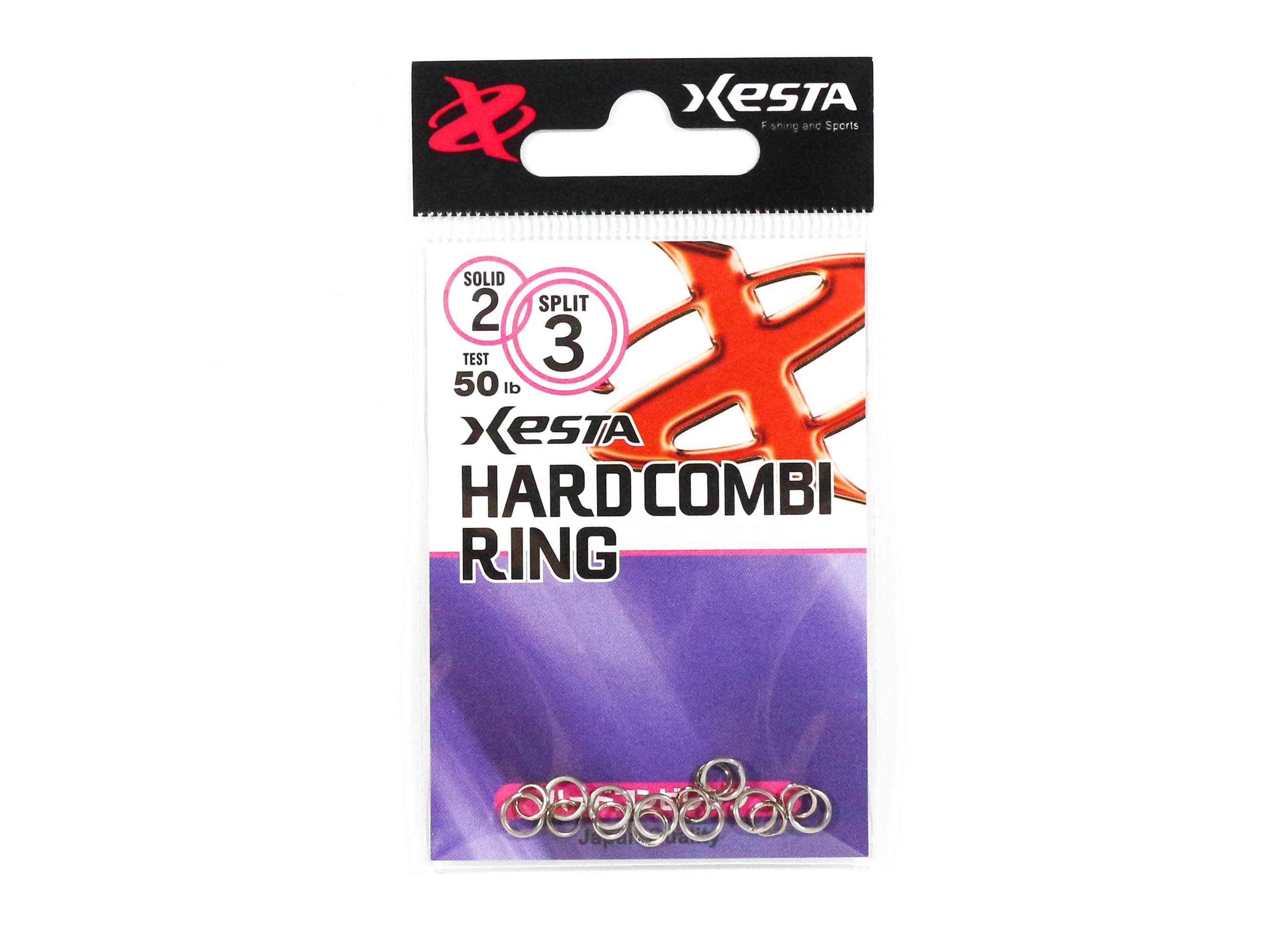 Xesta Hard Combi Ring Size 2 50 lb , 8 Pieces (5095)