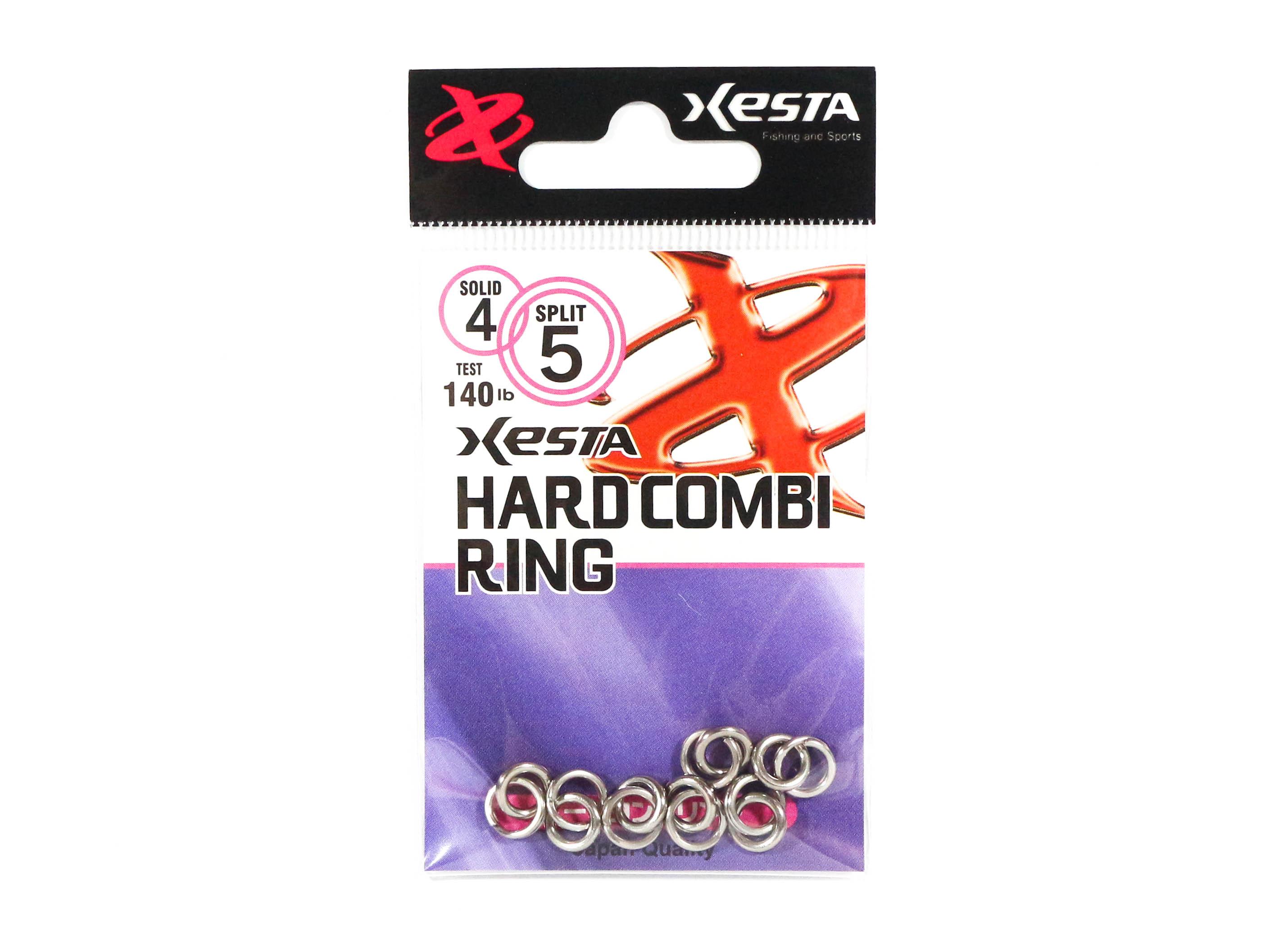 Xesta Hard Combi Ring Size 4 80 lb , 7 Pieces (5118)
