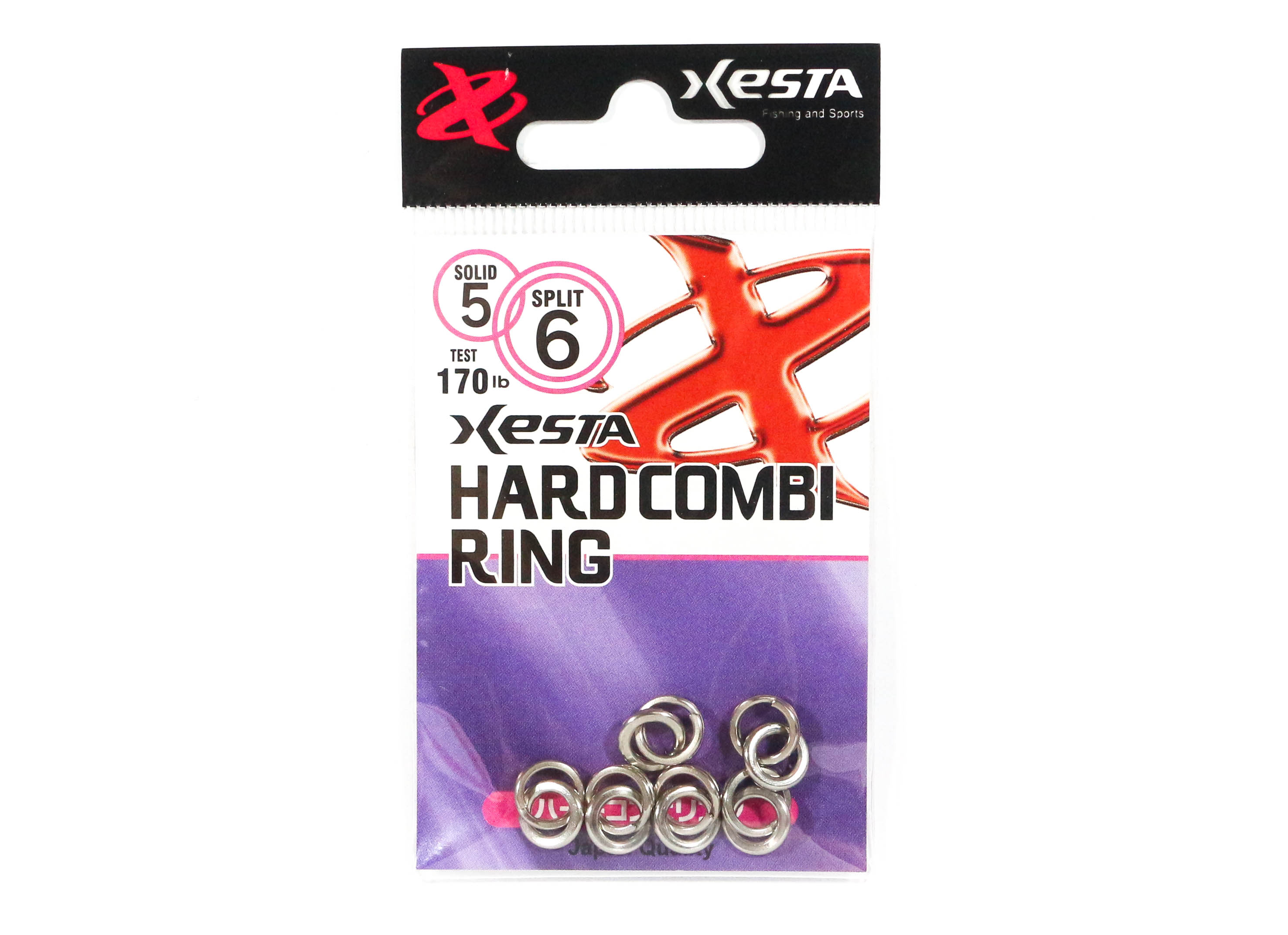 Xesta Hard Combi Ring Size 5 140 lb , 6 Pieces (5125)