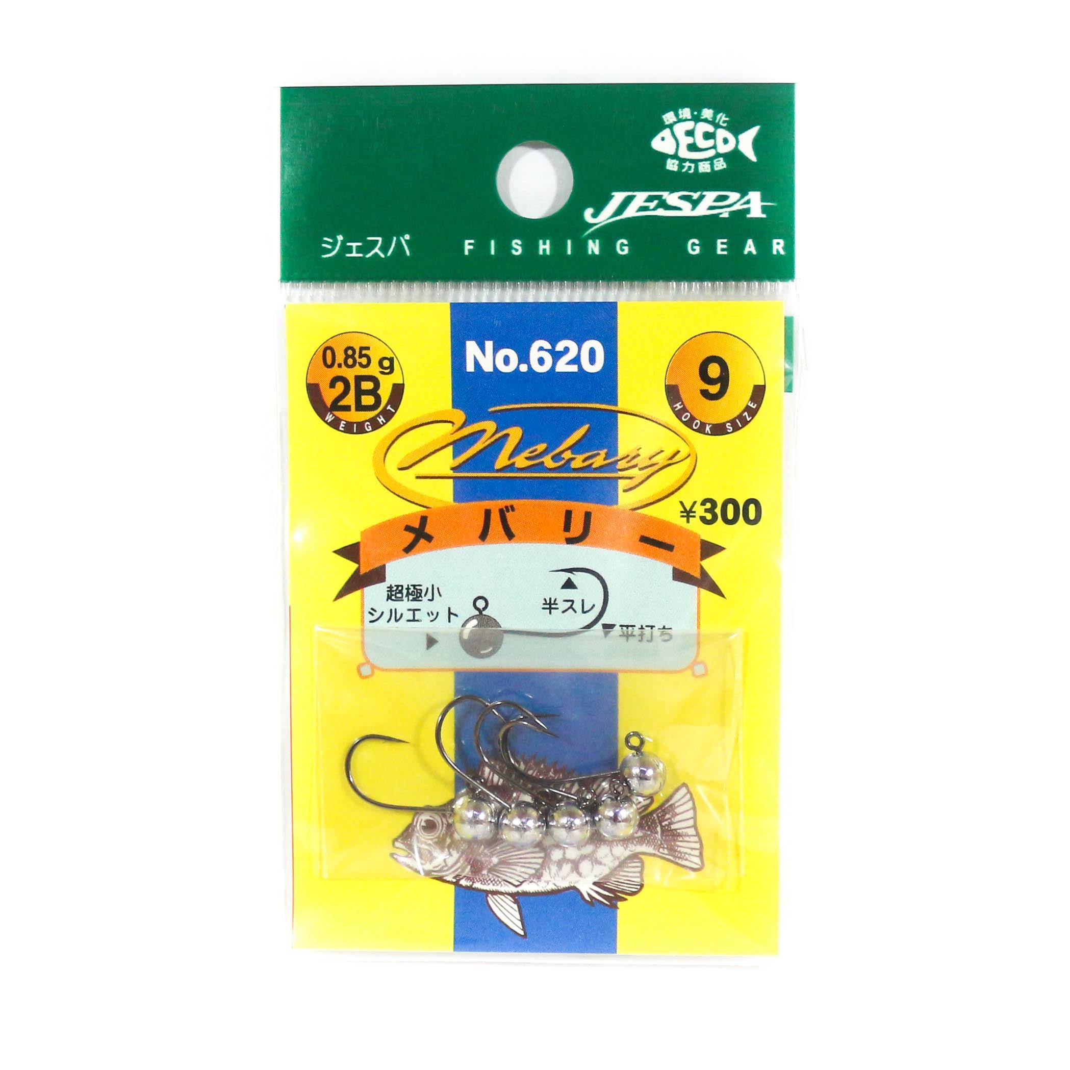 Yarie Jespa M. 620 Mini Mini Jig head Mebaru 5 piece per pack 0.85 gram (7162)