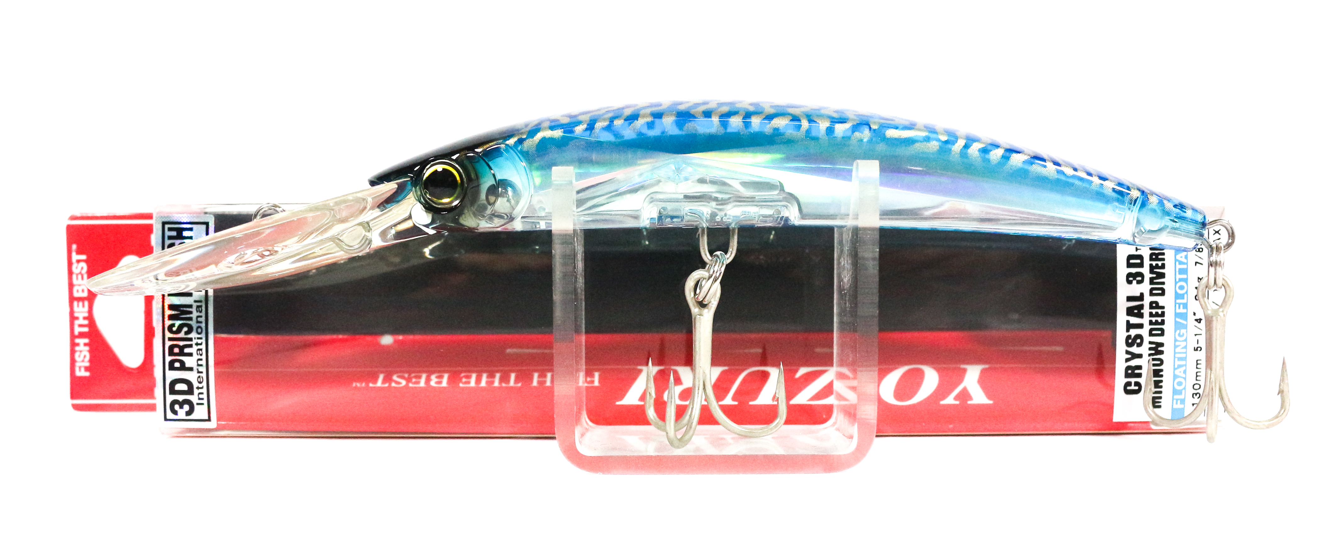 Yo Zuri 3D Crystal Minnow DD 130 mm Floating Lure F1153-C24 (6430)