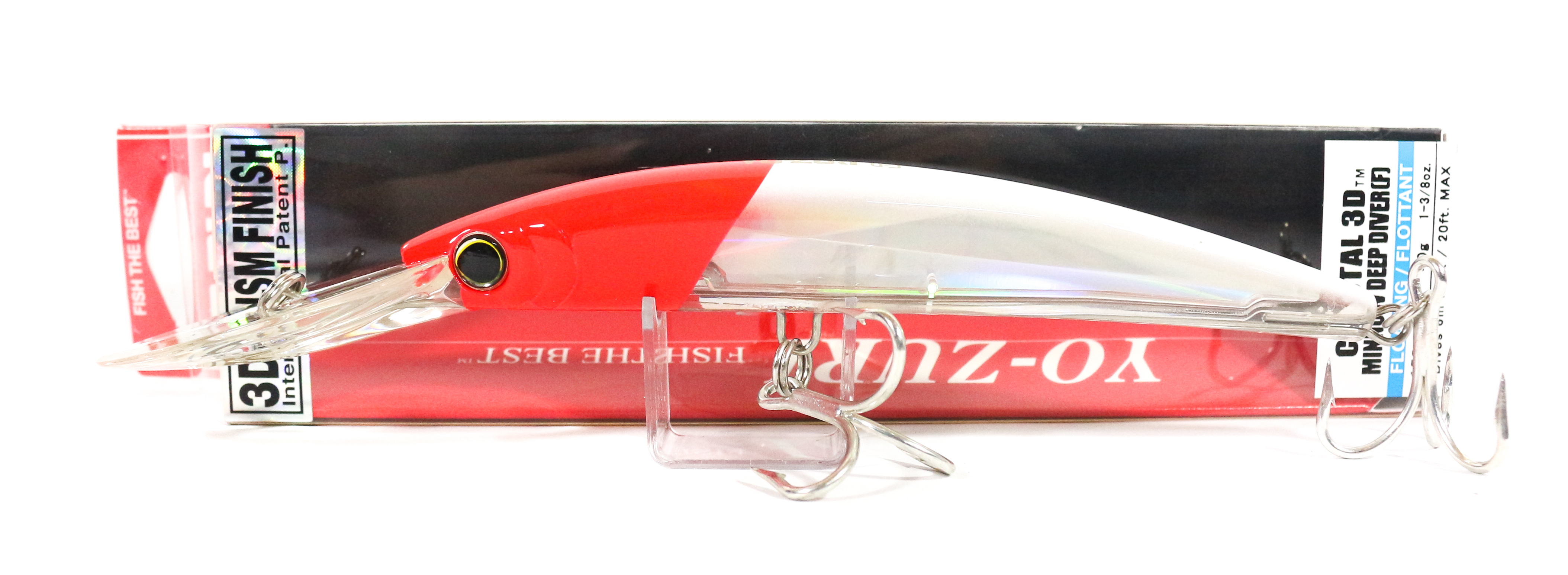 Yo Zuri 3D Crystal Minnow DD 150 mm Floating Lure F1154-C5 (6621)