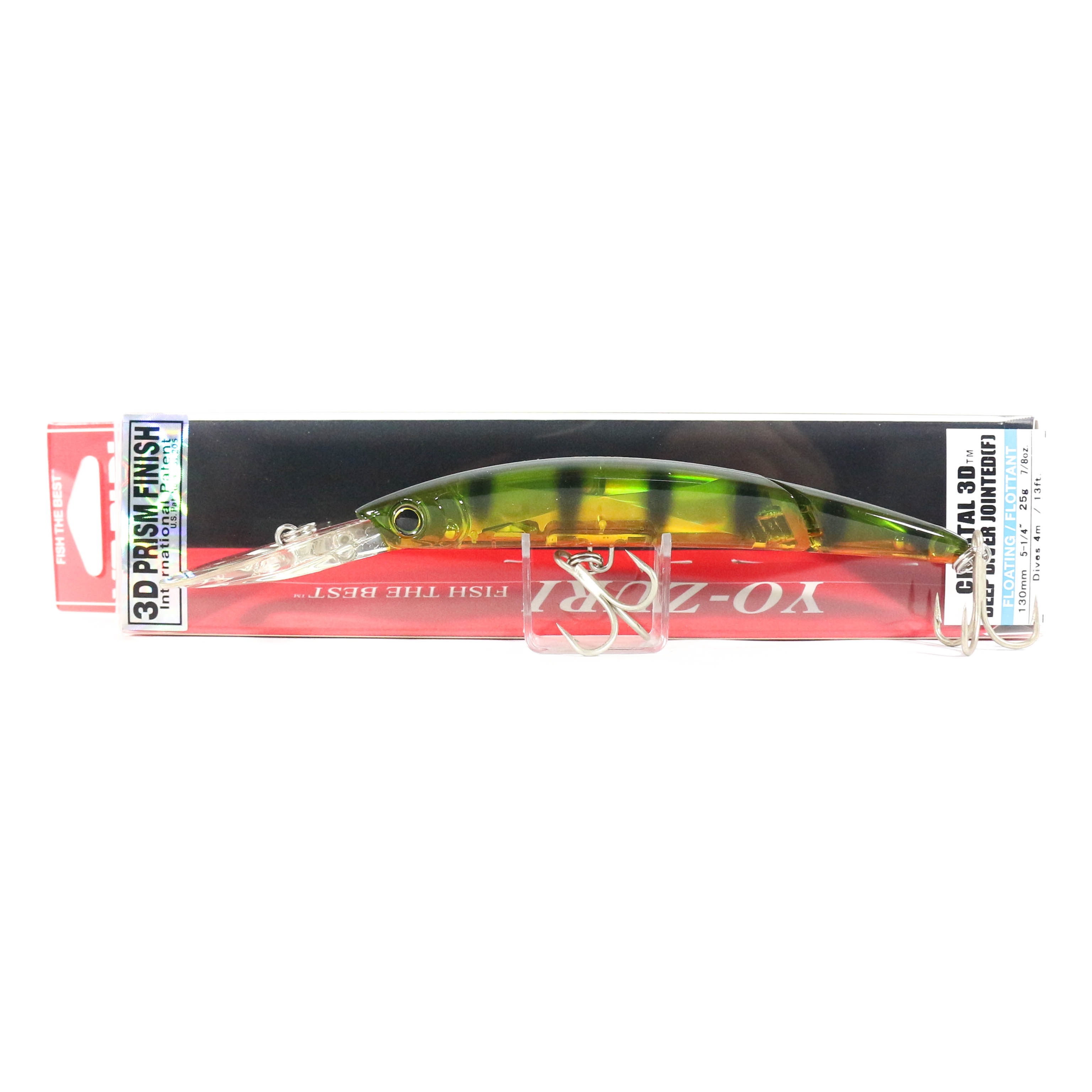 Yo Zuri 3D Crystal Minnow Jointed DD 130 mm Floating Lure F1155-PC (7345)