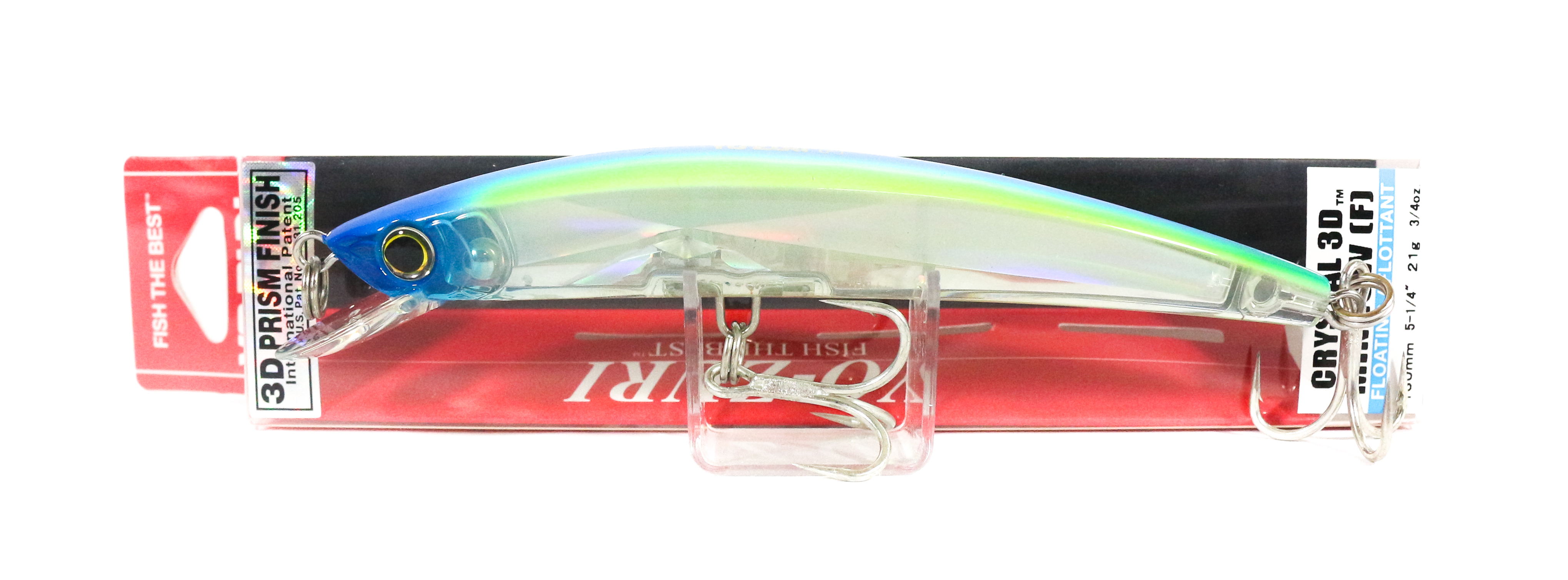 Yo Zuri 3D Crystal Minnow 130 mm Floating Lure F1147-C58 (5846)