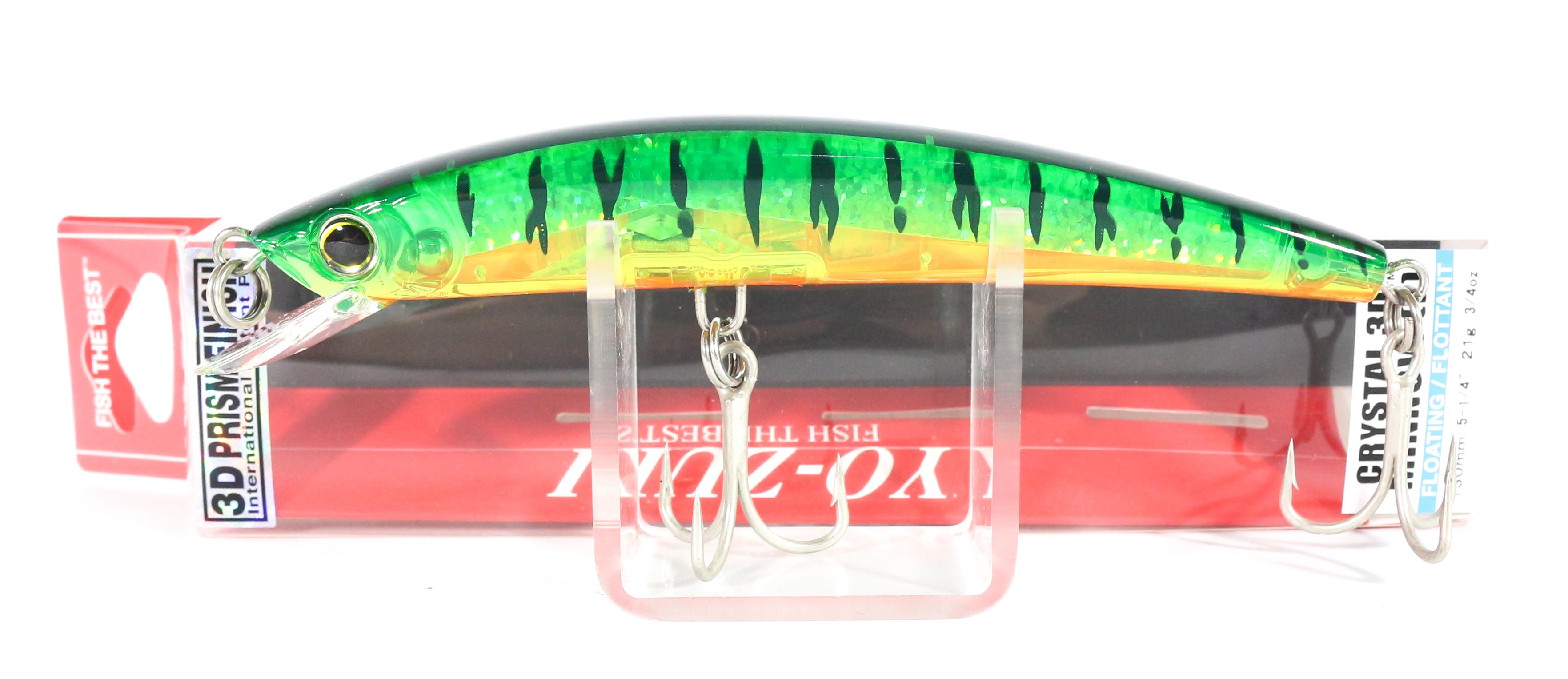 Yo Zuri 3D Crystal Minnow 130 mm Floating Lure F1147-HT (5891)
