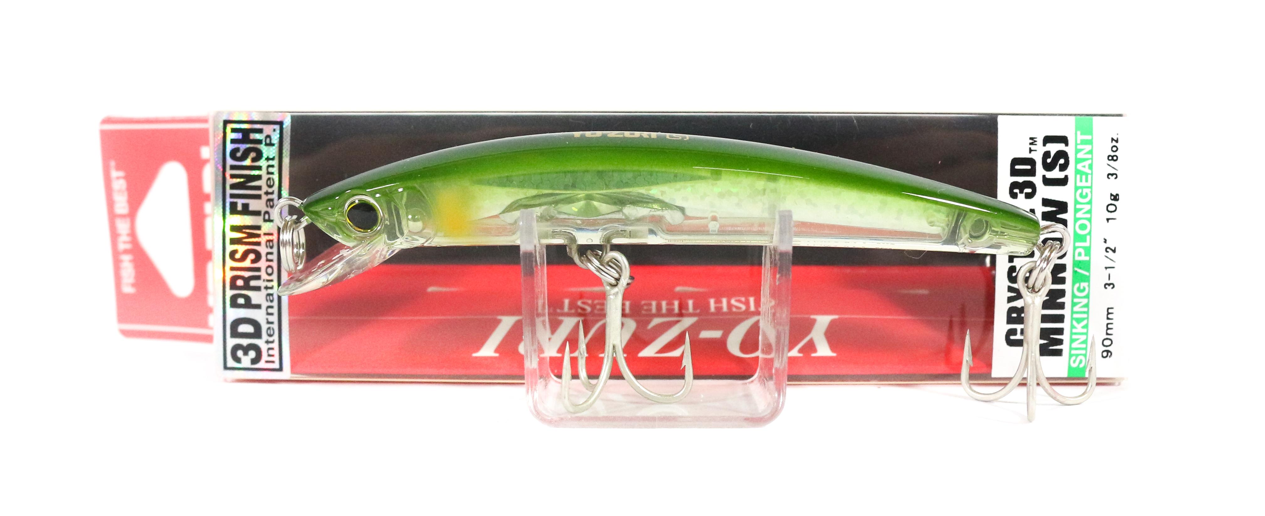 Yo Zuri 3D Crystal Minnow 90 mm Sinking Lure F1148-C44 (5976)