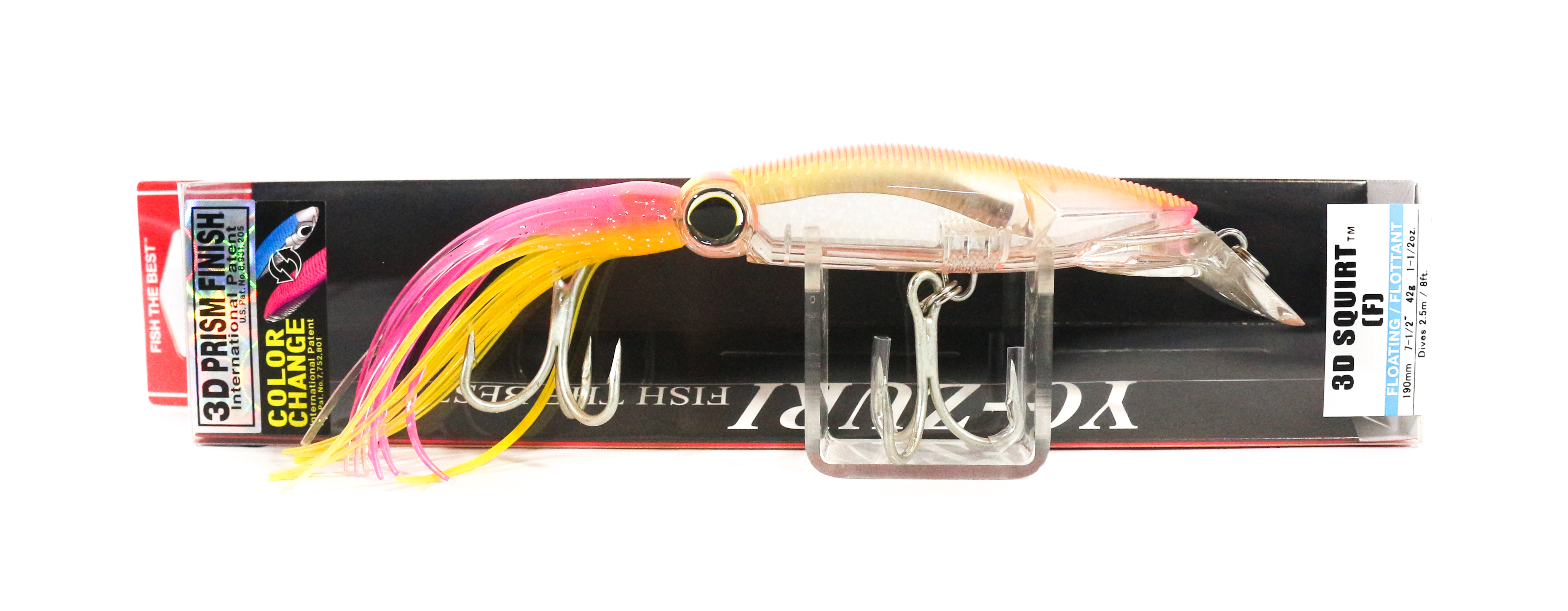 Yo Zuri 3D Squirt 190 mm Trolling Floating Lure R1166-CPHP (5371)