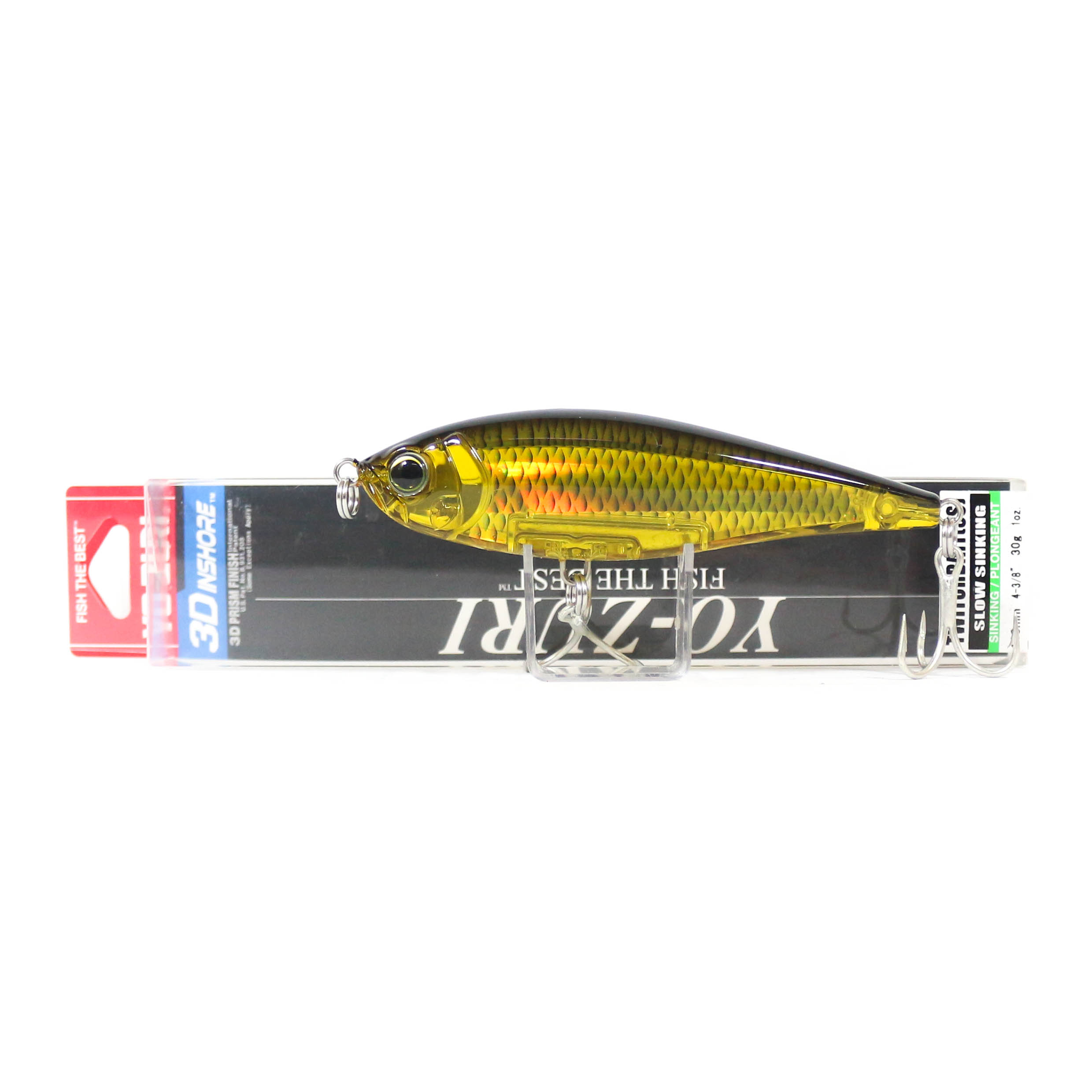 Yo Zuri Duel 3D Inshore Twitchbait 110SS Slow Sinking Lure R1348-HGBL (9342)