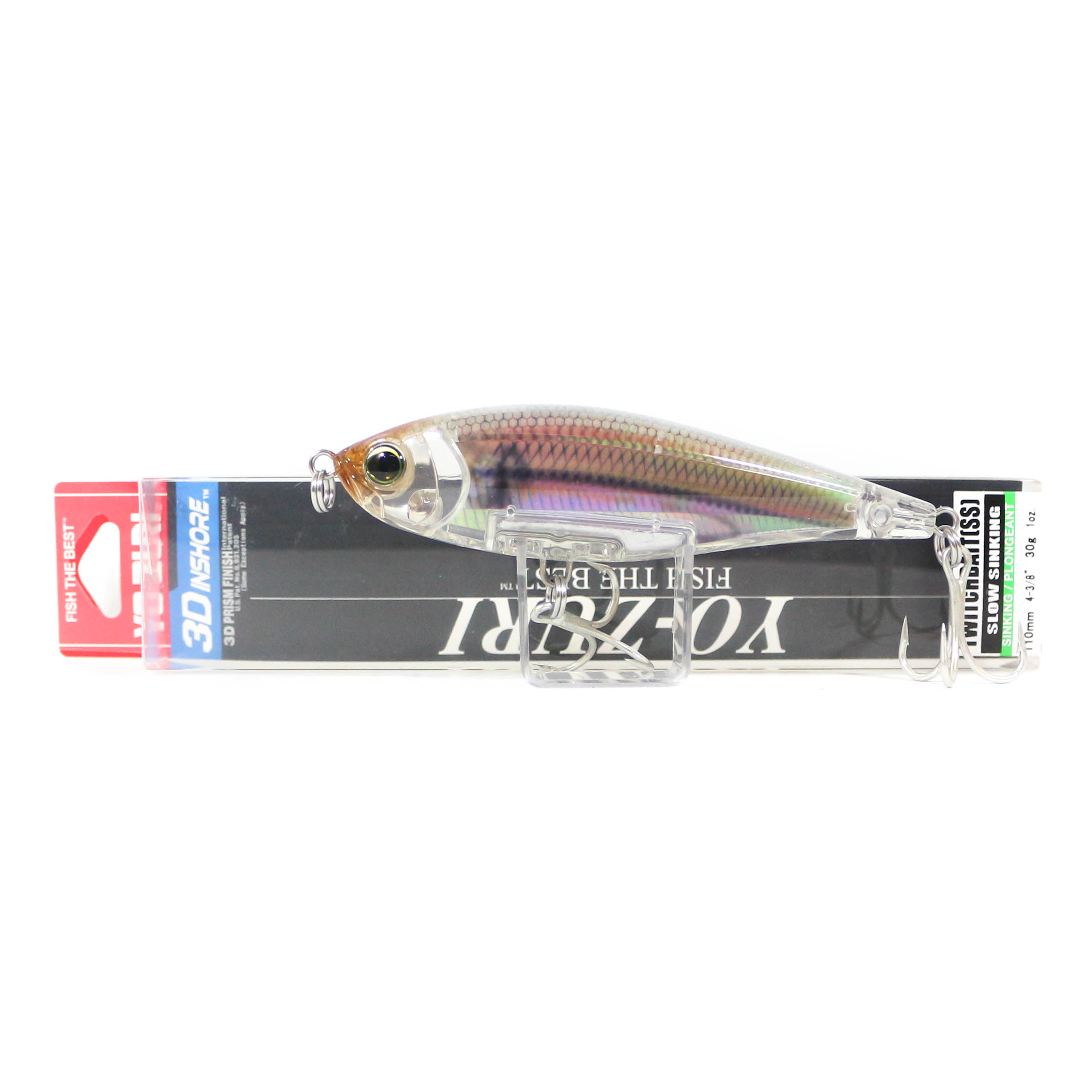 Yo Zuri Duel 3D Inshore Twitchbait 110SS Slow Sinking Lure R1348-RGLM (9403)