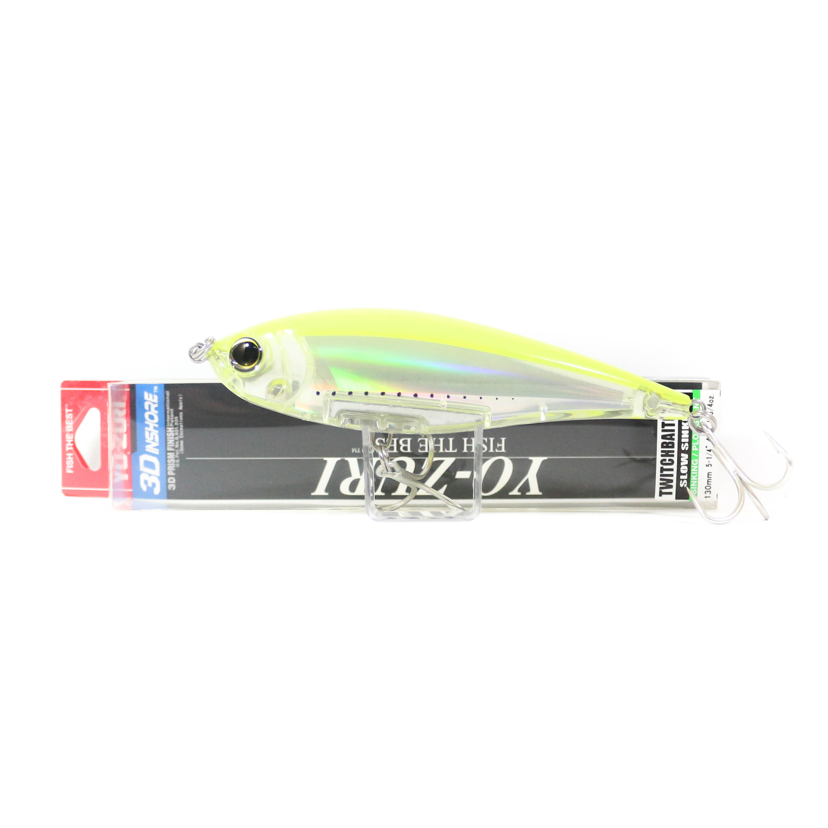 Yo Zuri Duel 3D Inshore Twitchbait 130SS Slow Sinking Lure R1349-GHCS (9465)