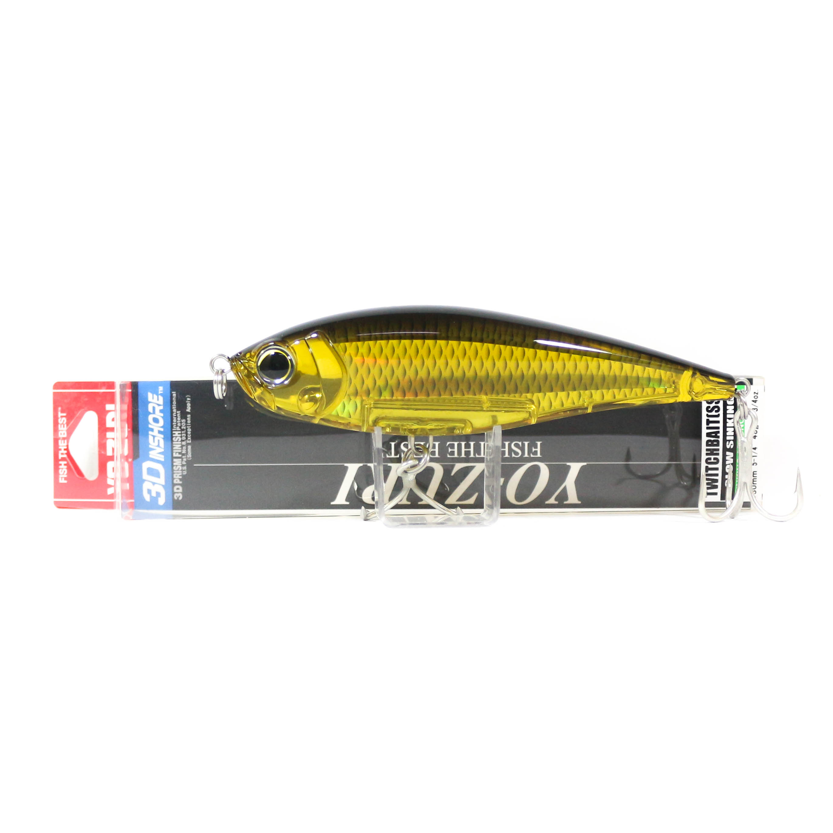 Yo Zuri Duel 3D Inshore Twitchbait 130SS Slow Sinking Lure R1349-HGBL (9489)