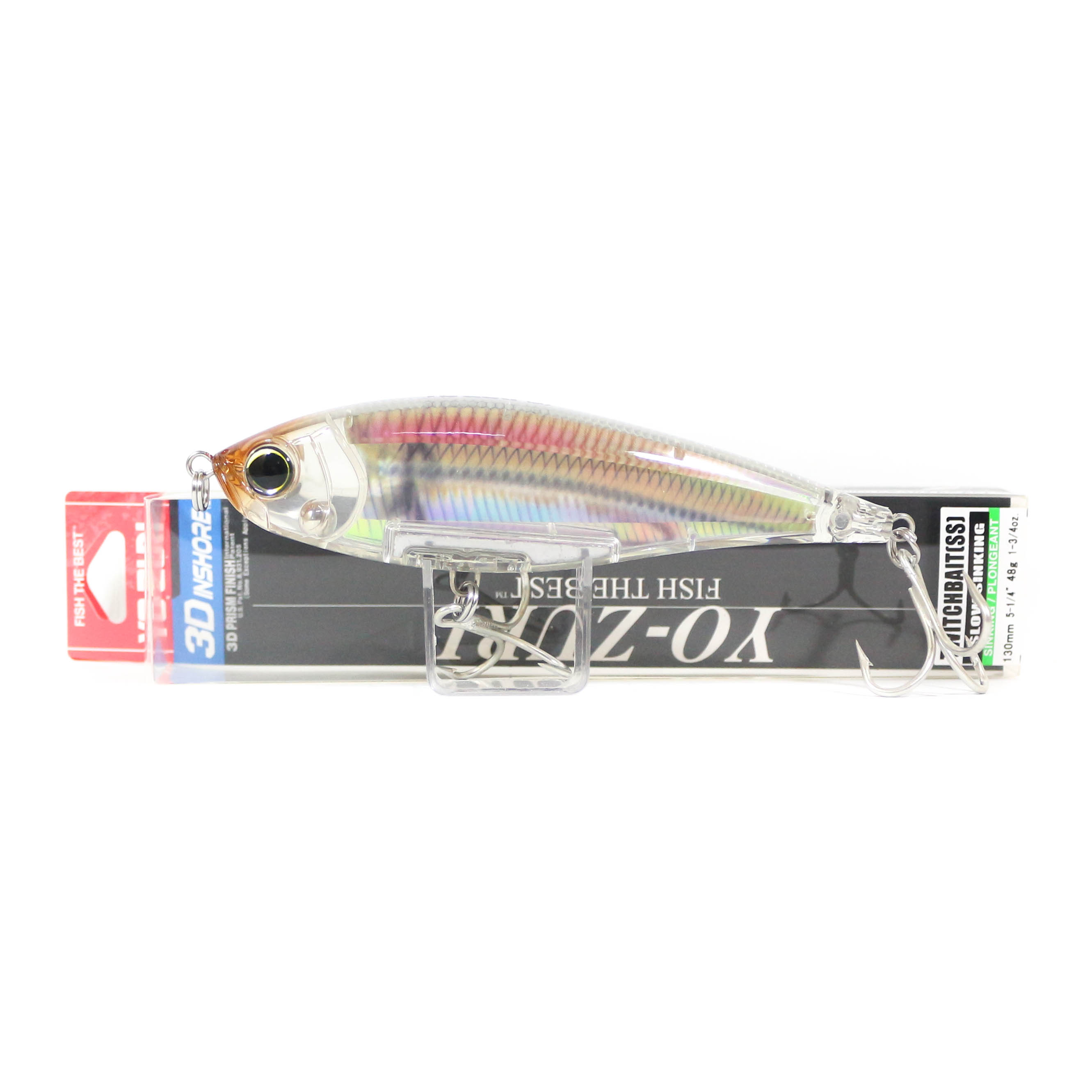 Yo Zuri Duel 3D Inshore Twitchbait 130SS Slow Sinking Lure R1349-RGLM (9540)