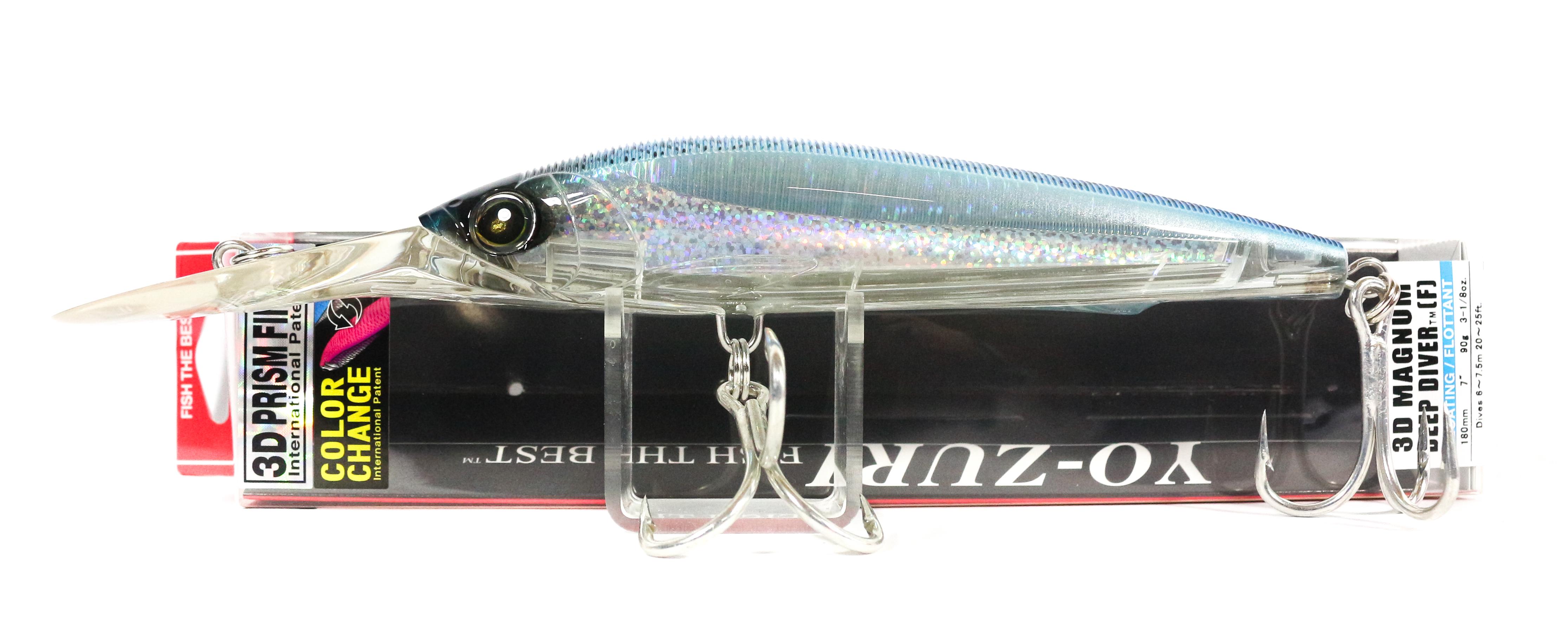 Yo Zuri 3D Magnum DD 180 mm Trolling Floating Lure R1165-CPBM (5289)
