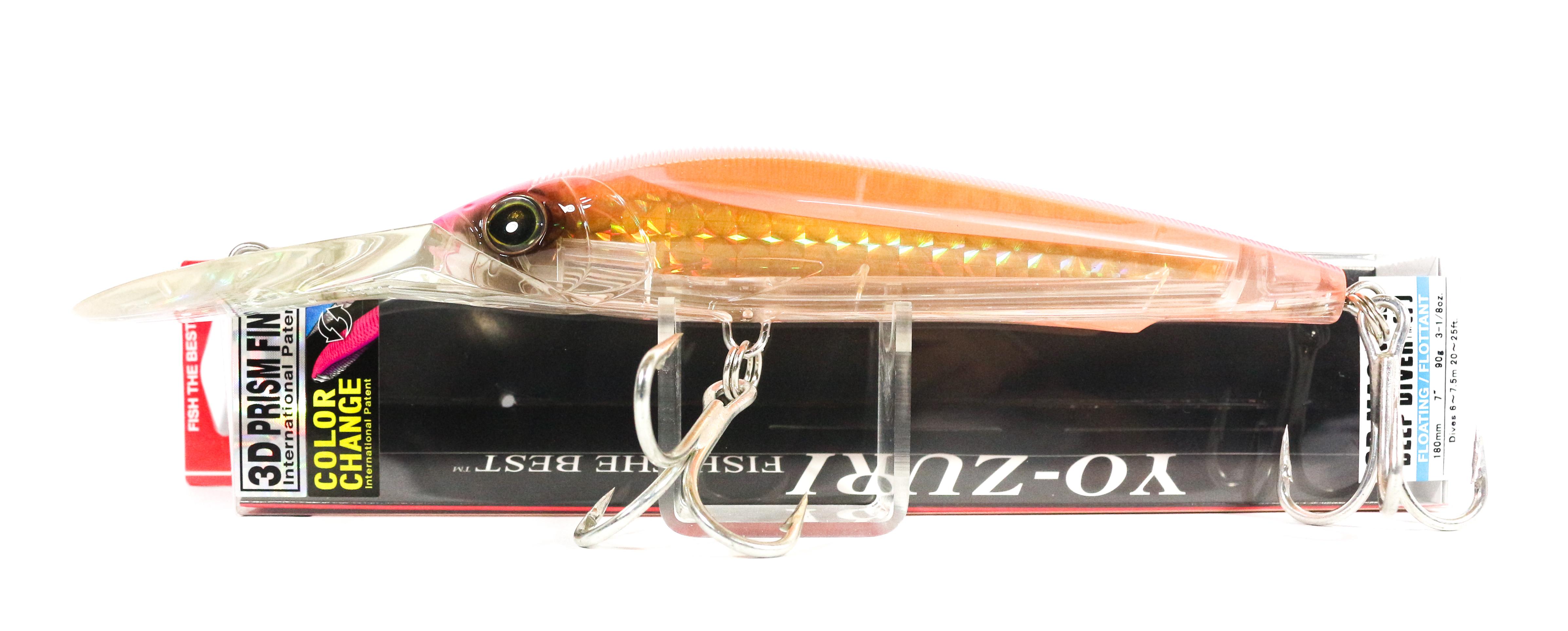 Yo Zuri 3D Magnum DD 180 mm Trolling Floating Lure R1165-CPPO (5333)