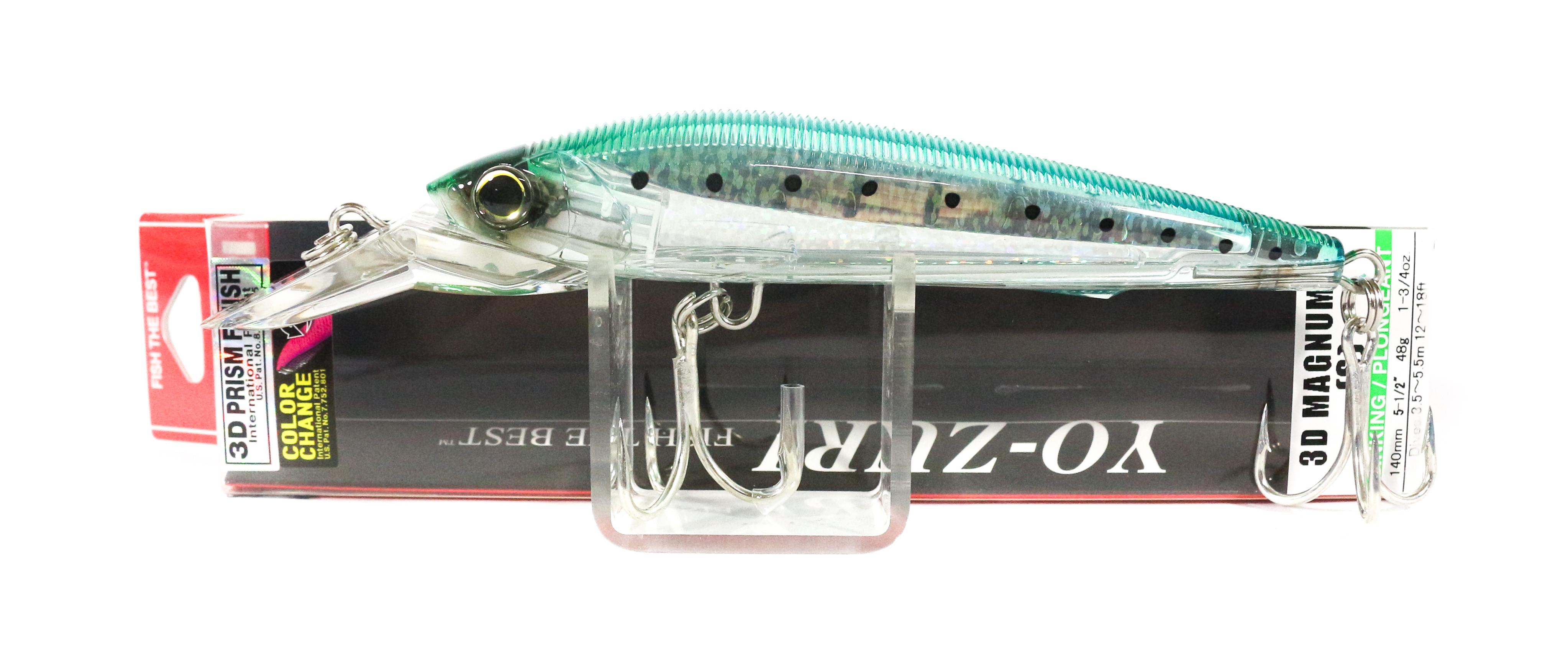 Yo Zuri 3D Magnum 140 mm Trolling Sinking Lure R1163-CPNI (5166)