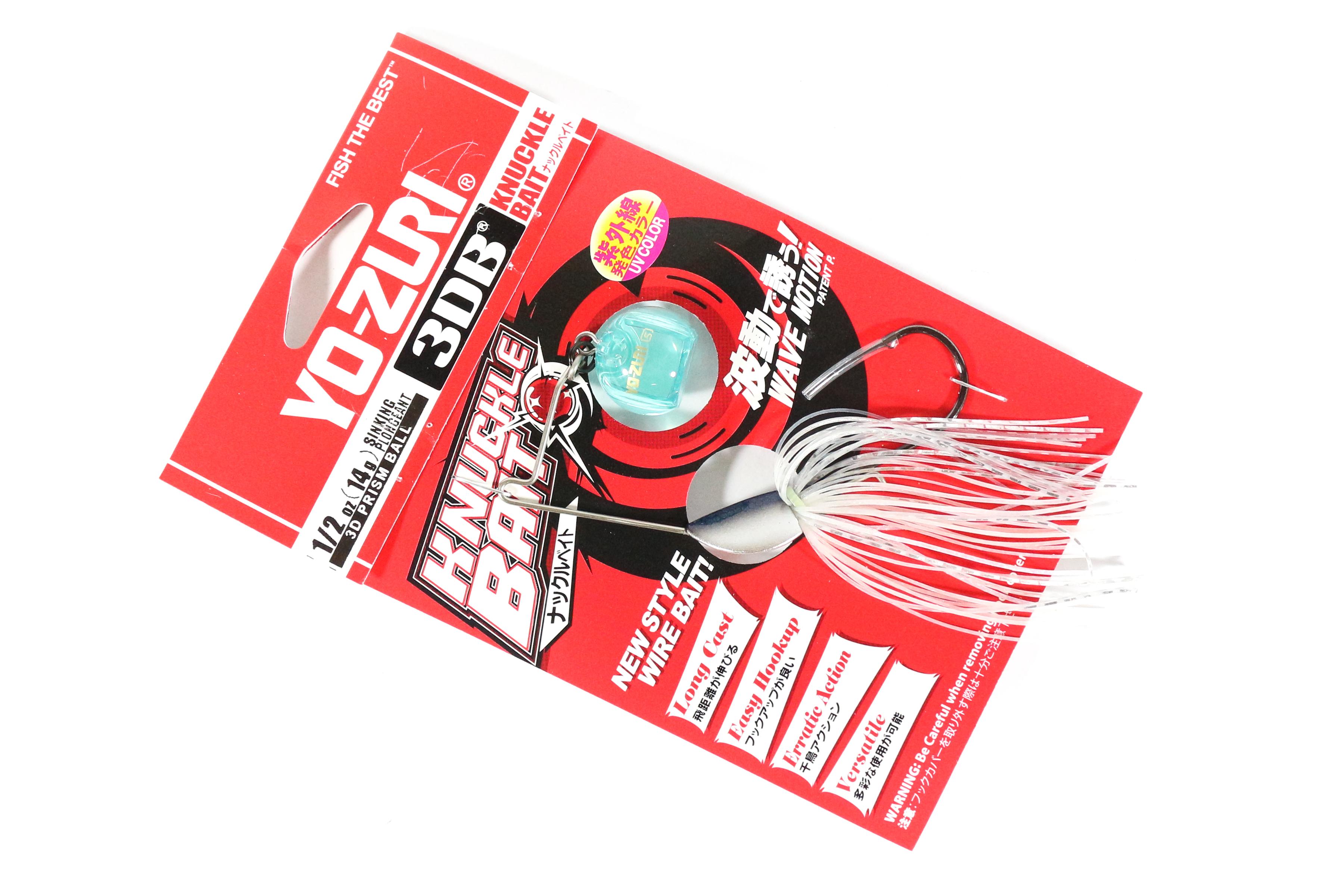 NEW 2018 Yo-Zuri 3DB Knuckle Bait Spinnerbait 1//2oz Shad R1302 SH 3DB
