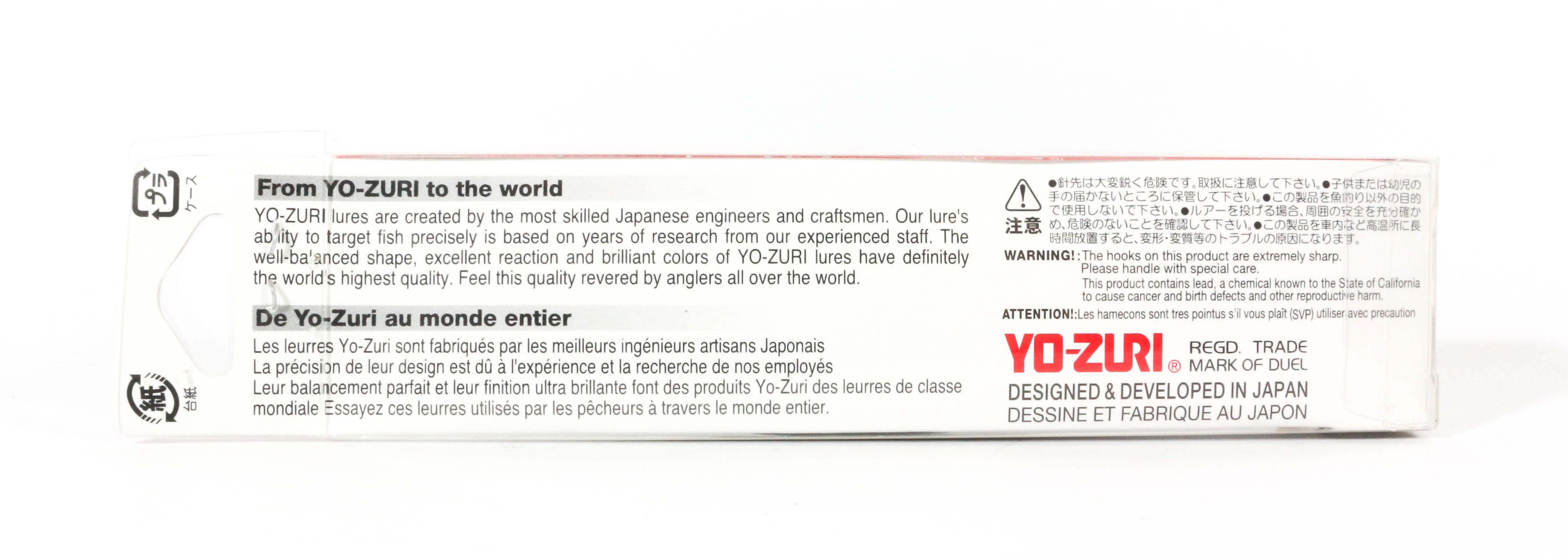 Yo Zuri Duel 3DS Minnow 100 mm Suspend Lure F1157-HHAY 8779