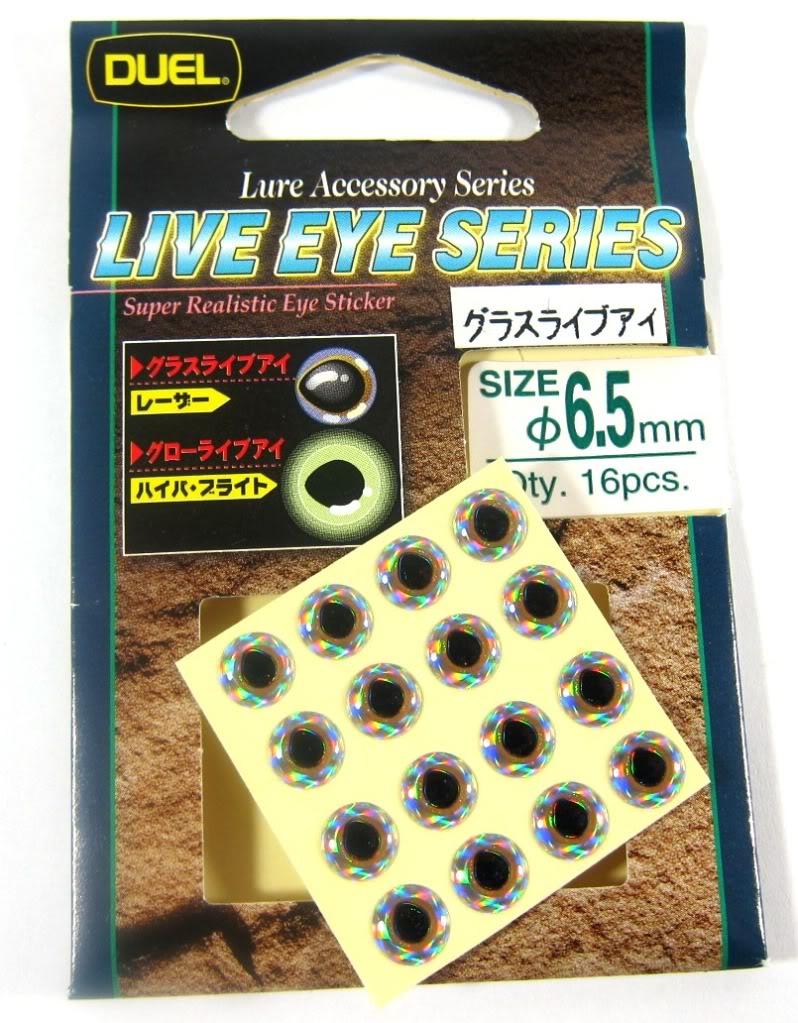 Yo Zuri Duel Live Glass Eye Lure Accessory Diameter 5.5 mm F651 (7828)