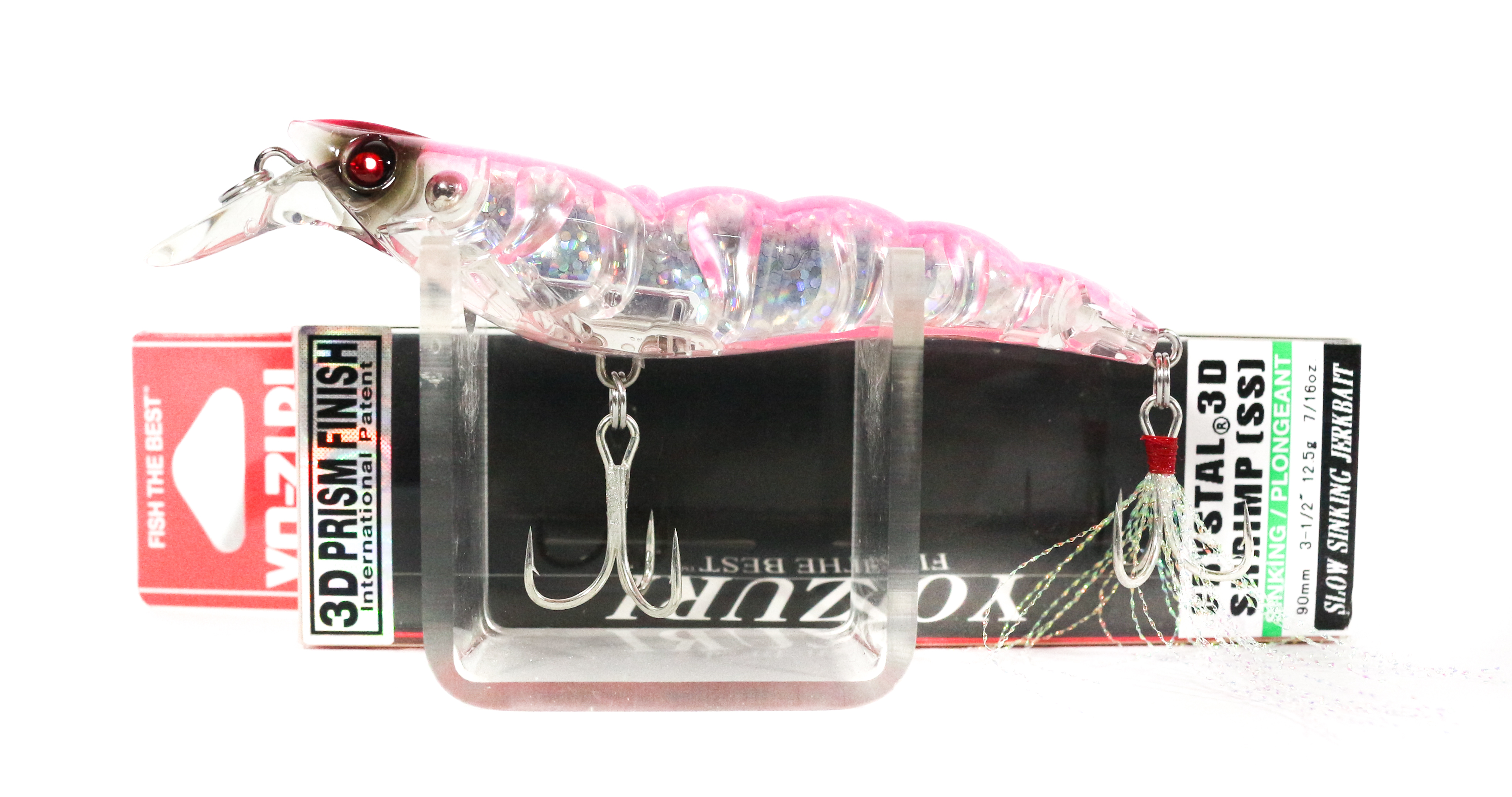 Yo Zuri 3D Crystal Shrimp 90 mm Sinking Lure R1162-HP (2585)