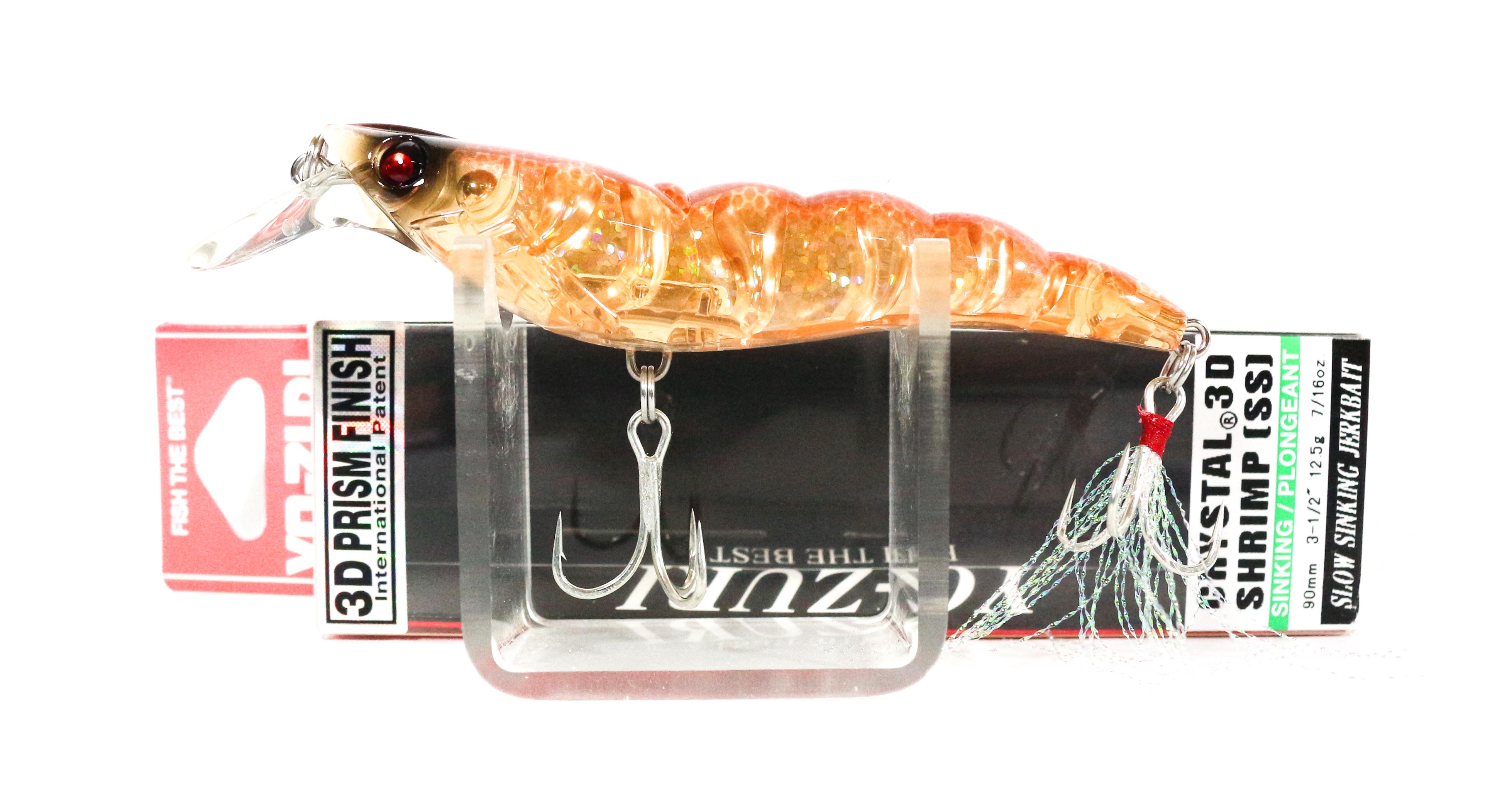 2530 Yo Zuri 3D Crystal Shrimp 70 mm Sinking Lure R1161-HTS